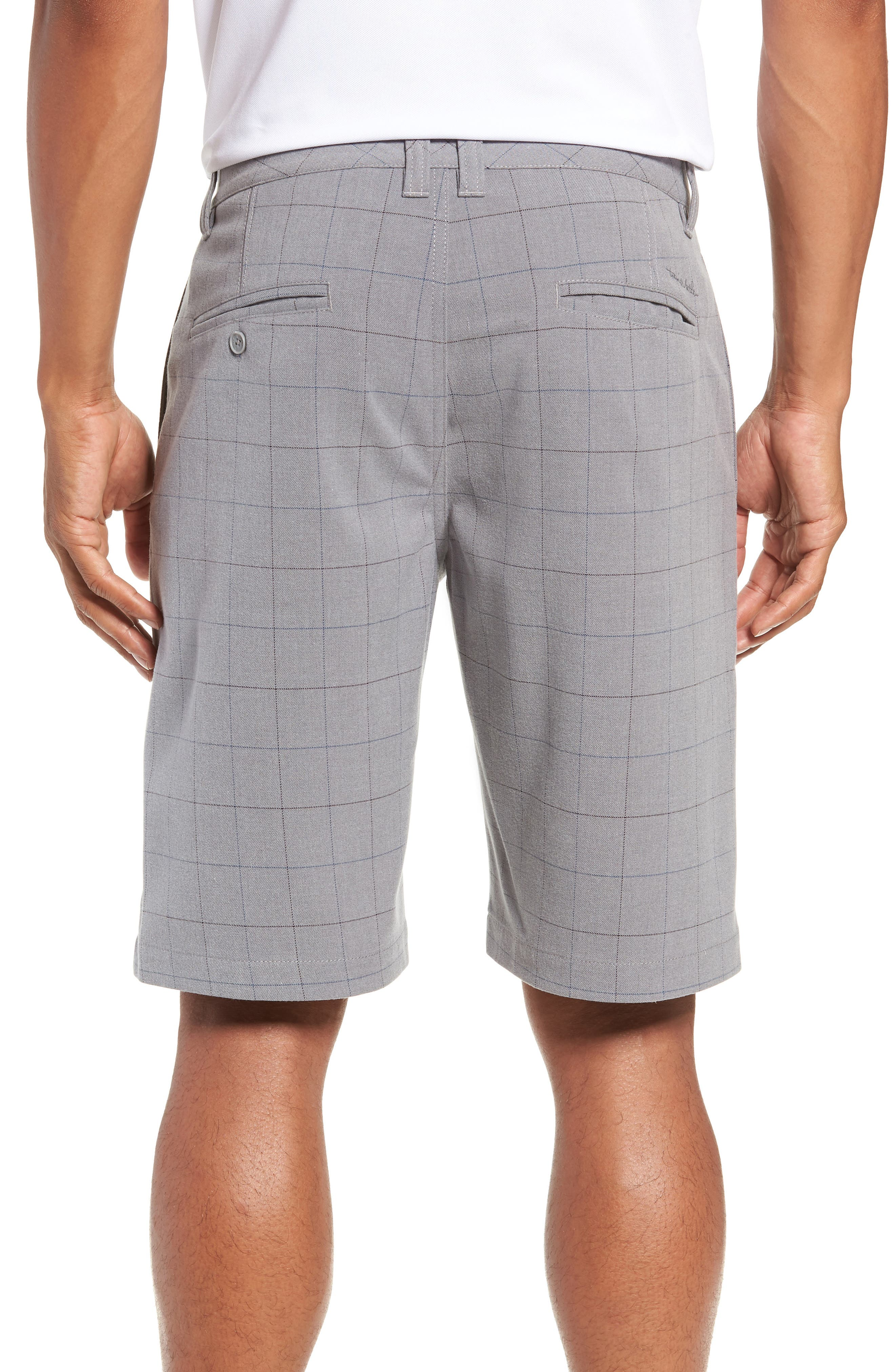 Rickles Regular Fit Shorts,                             Alternate thumbnail 2, color,                             HEATHER SHARKSKIN