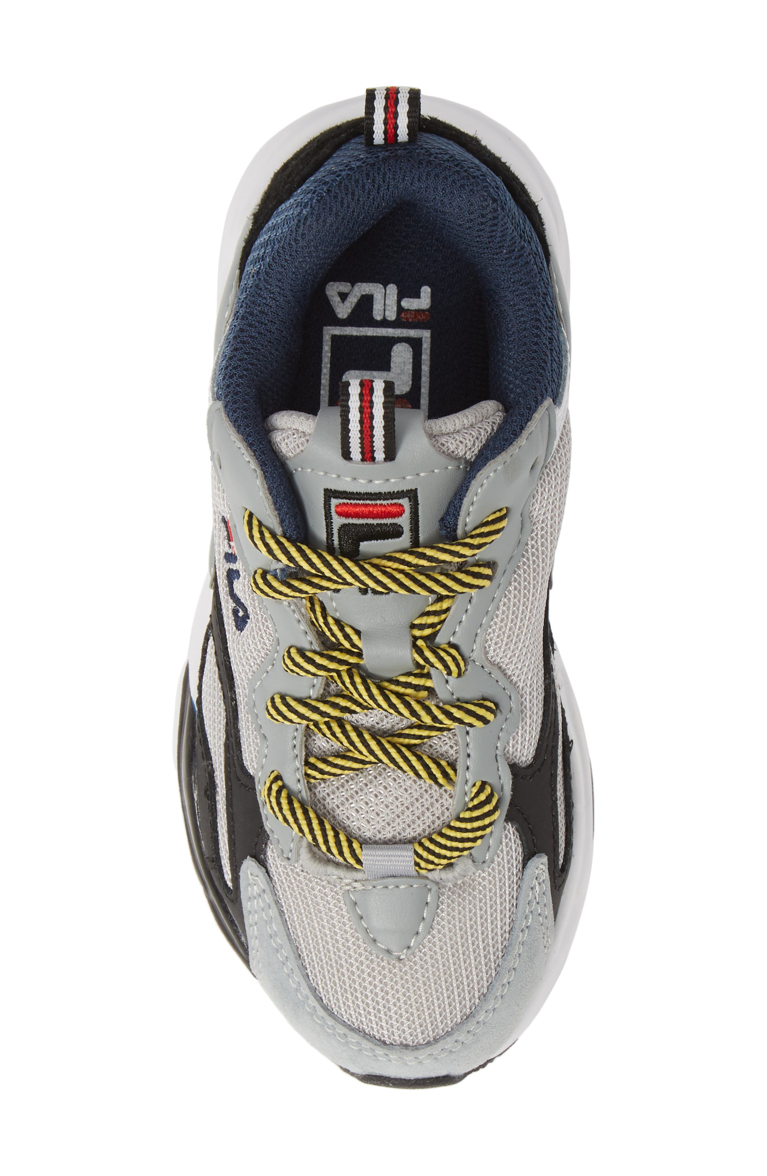 FILA,                             Ray Tracer Sneaker,                             Alternate thumbnail 5, color,                             VAPOR BLUE/ HIGHRISE/ BLACK