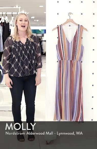 Sleeveless Blouson Midi Dress, sales video thumbnail