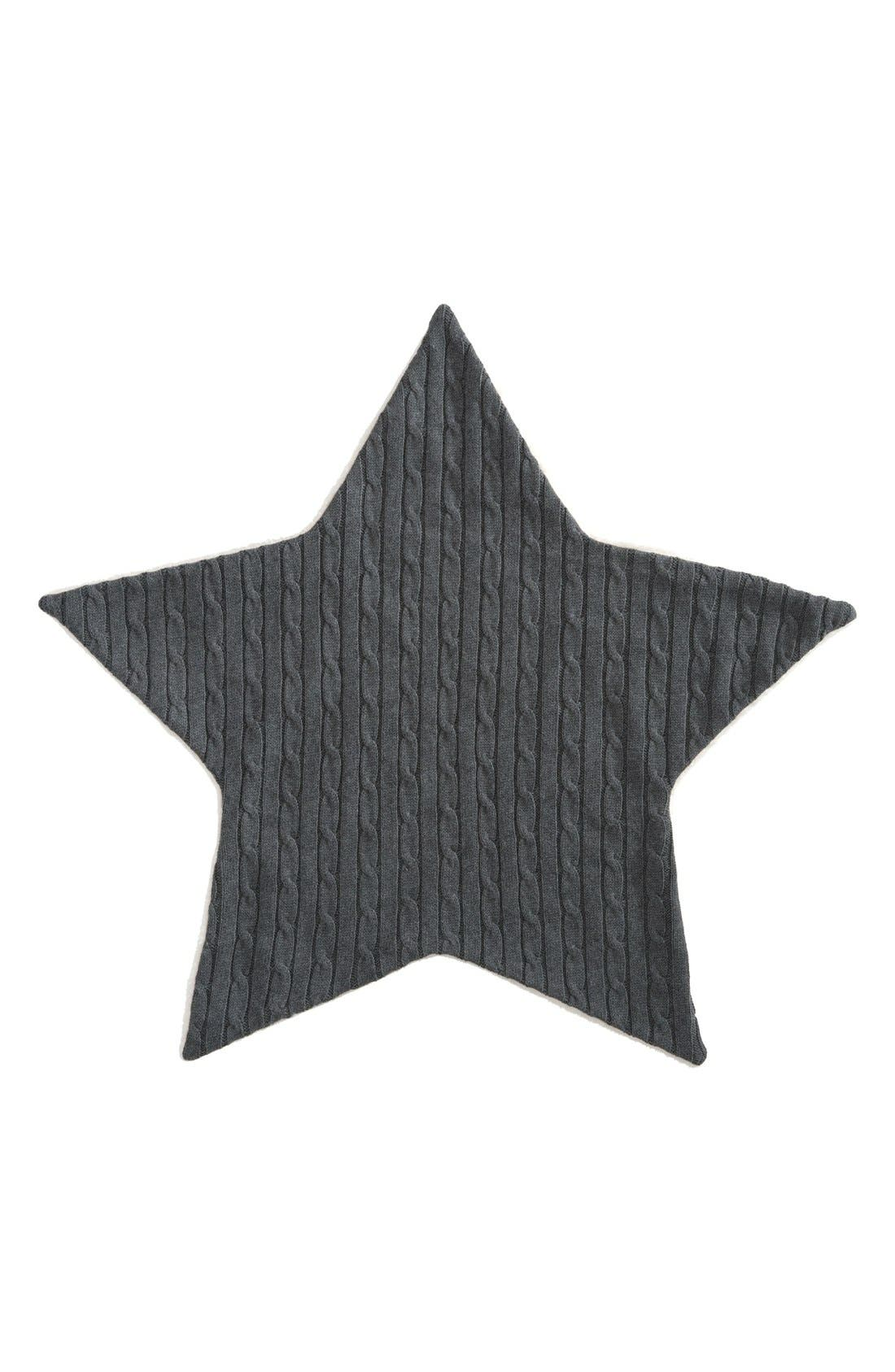 Cable Knit Star Blanket,                         Main,                         color,