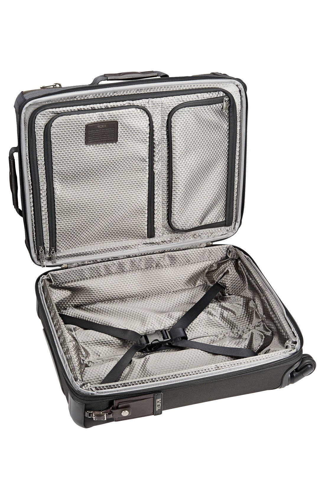 Alpha Bravo - Kirtland 22-Inch Continental Wheeled Carry-On,                             Alternate thumbnail 4, color,                             001