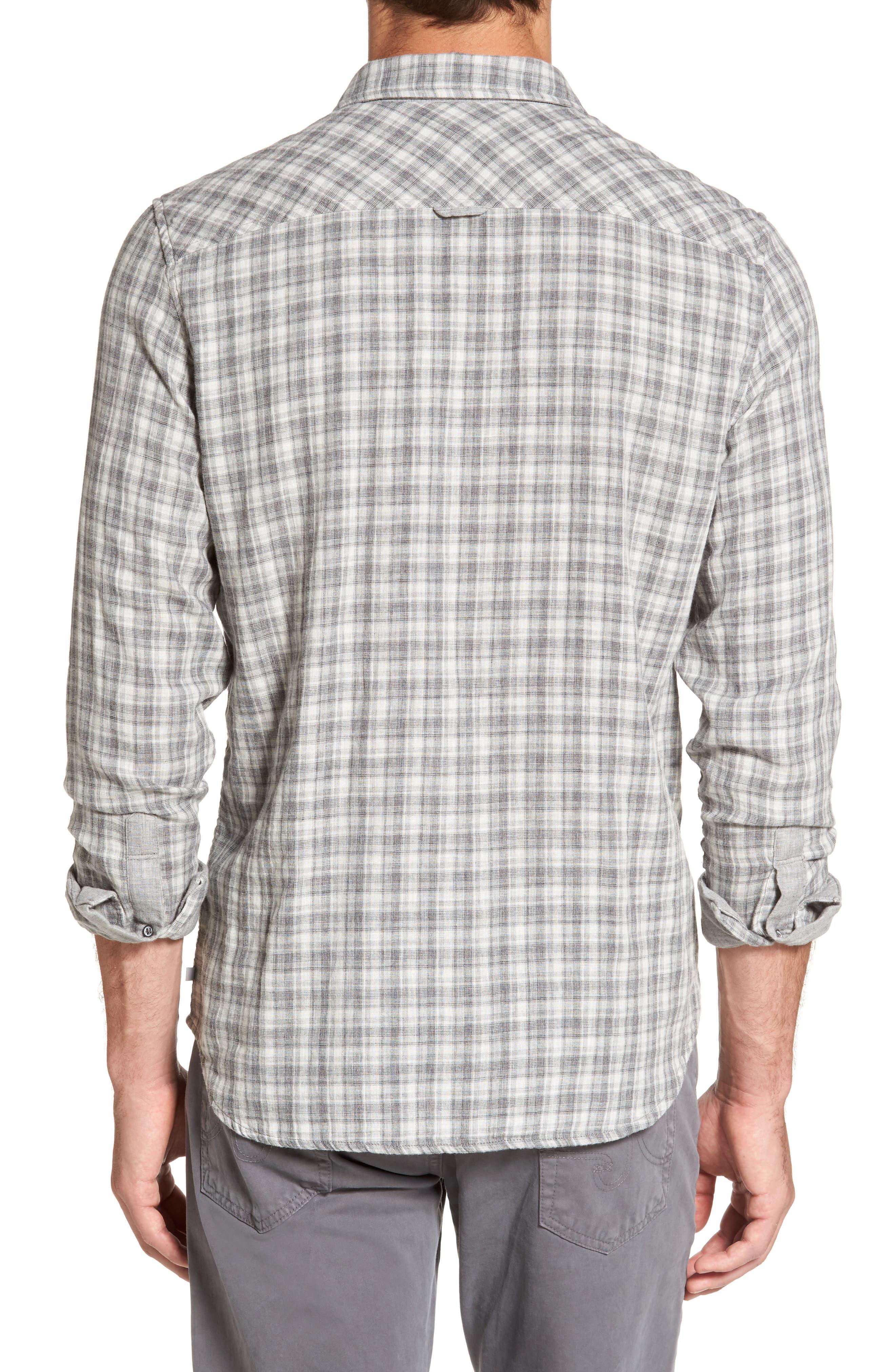 Grady Plaid Sport Shirt,                             Alternate thumbnail 2, color,                             029
