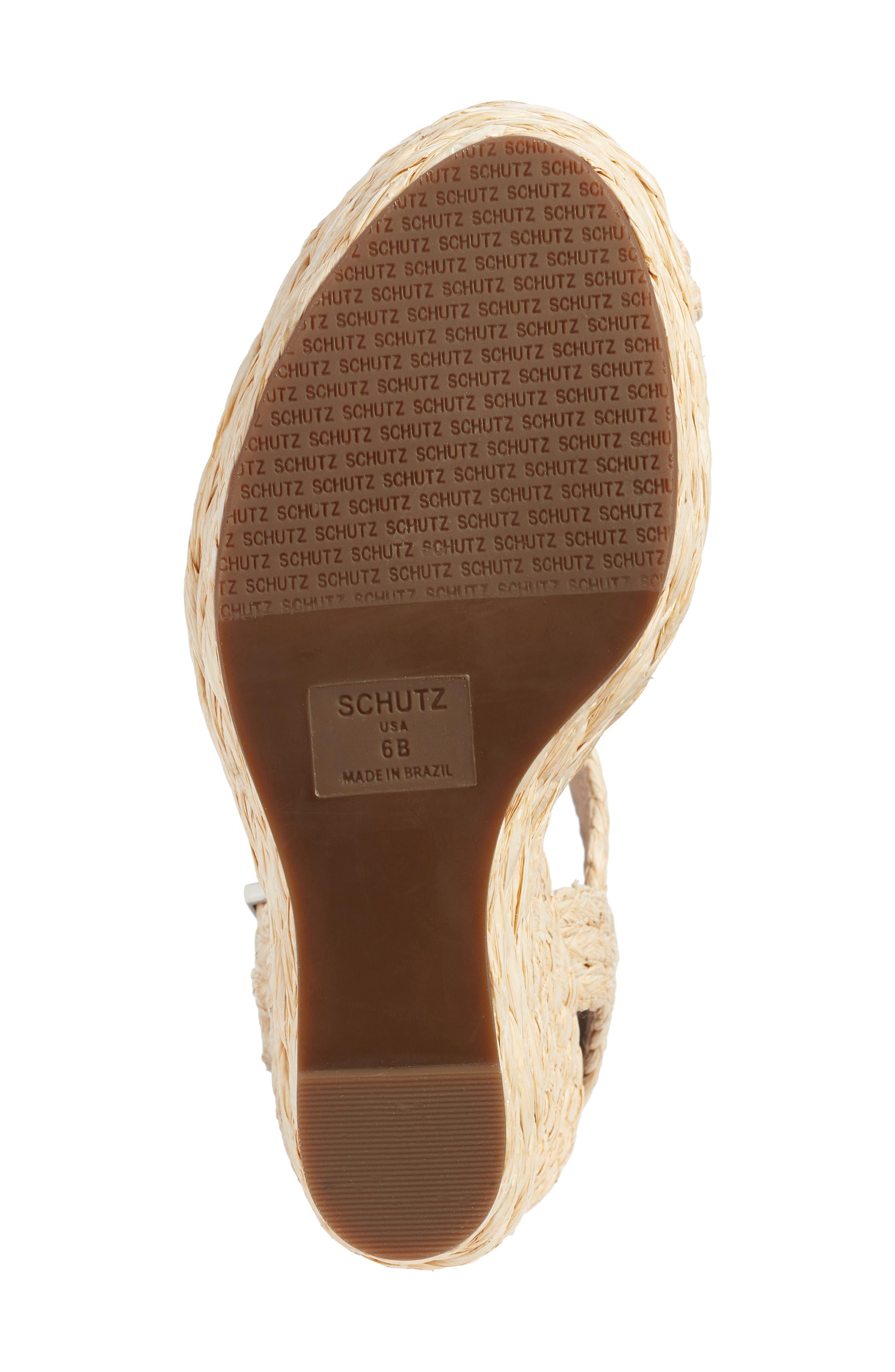Belatrix Platform Wedge Sandal,                             Alternate thumbnail 6, color,                             611