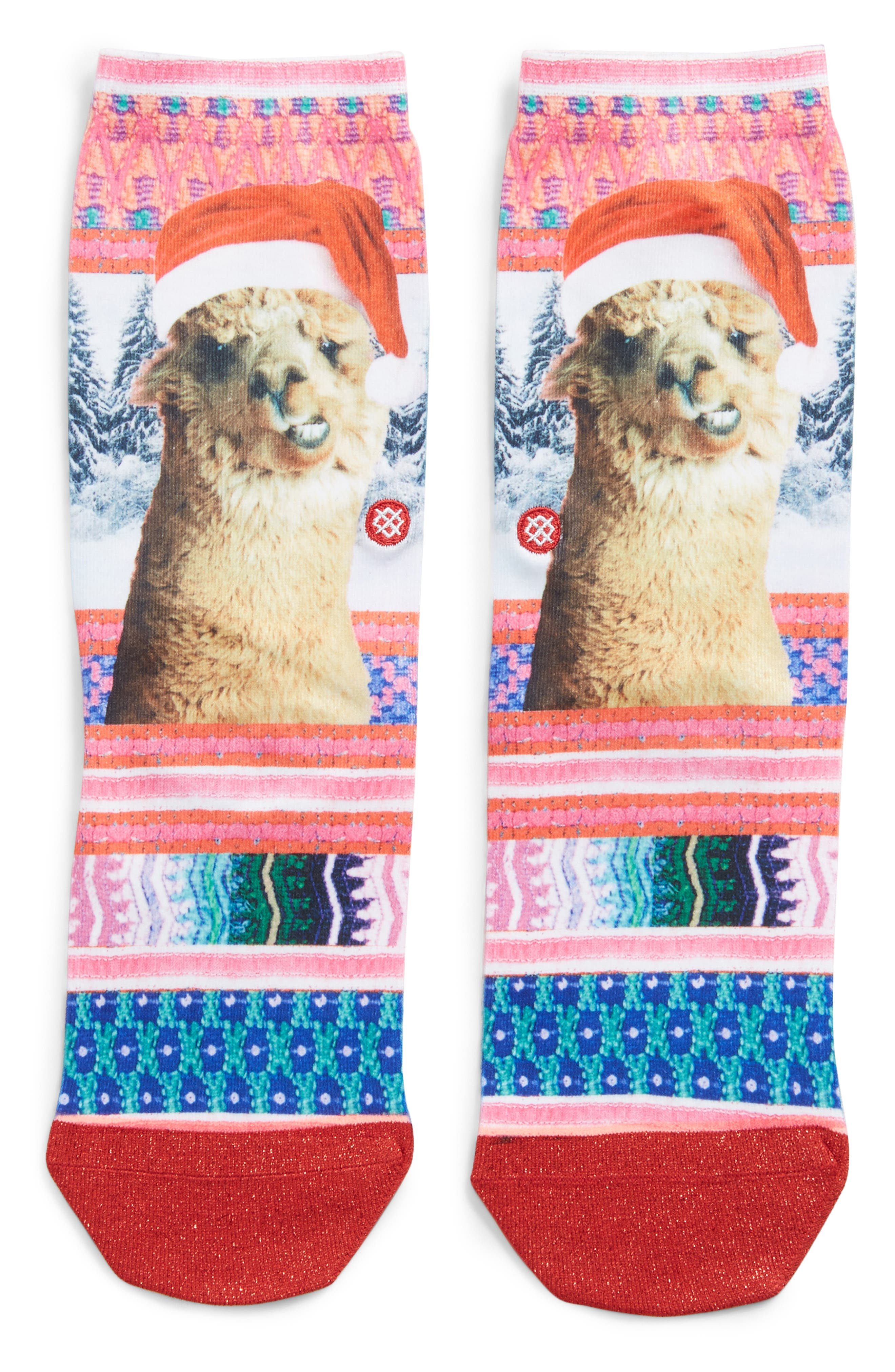 Tinsel Tina Crew Socks,                         Main,                         color, 650