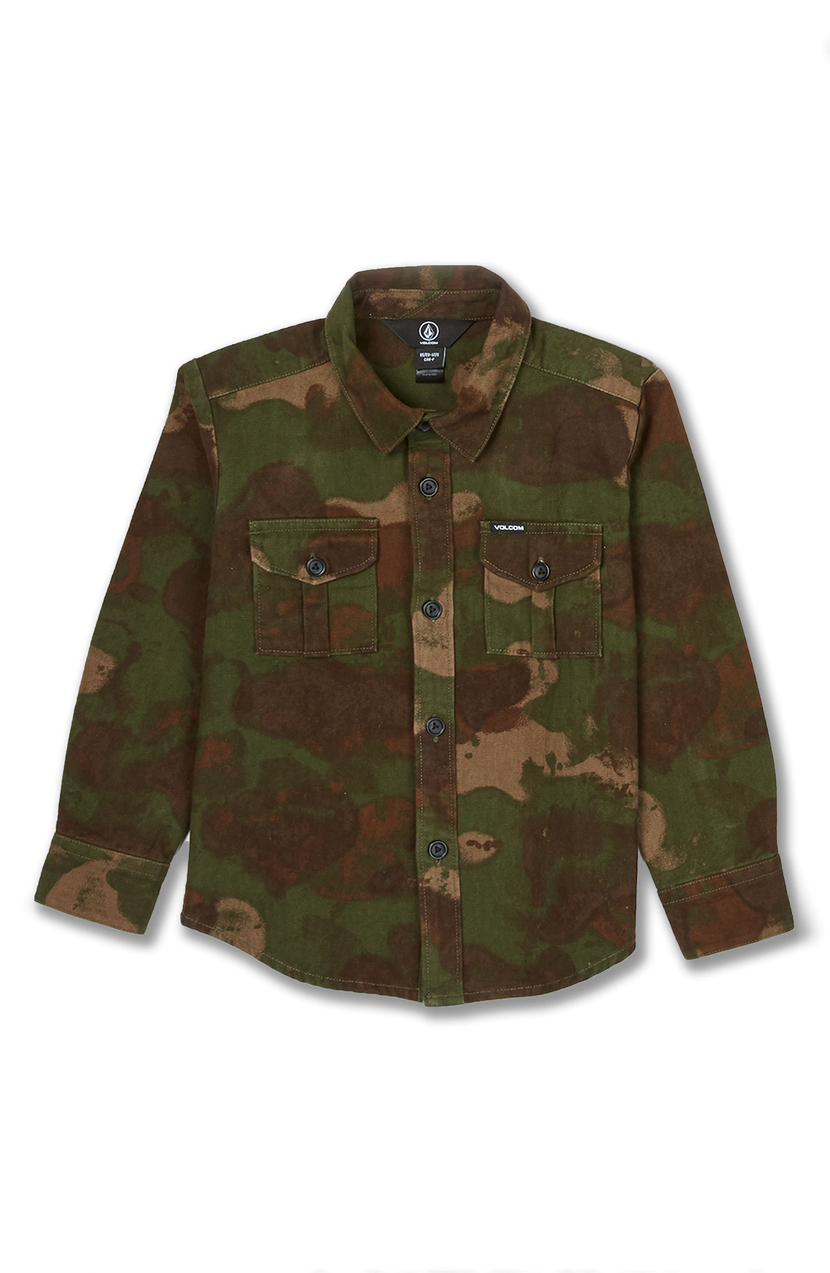 Camo Jacket,                             Main thumbnail 1, color,                             ARMY