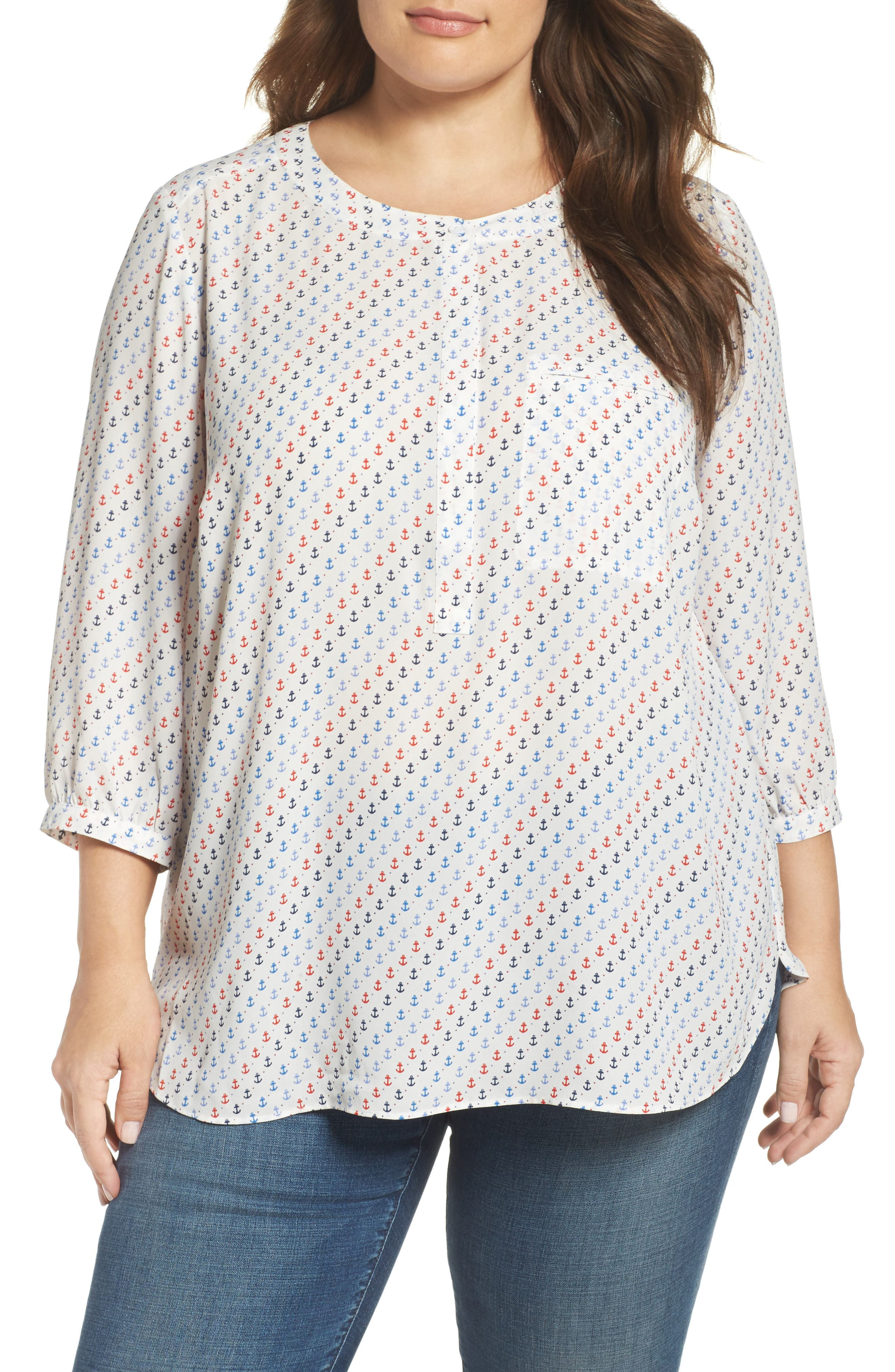 Henley Top,                             Alternate thumbnail 148, color,