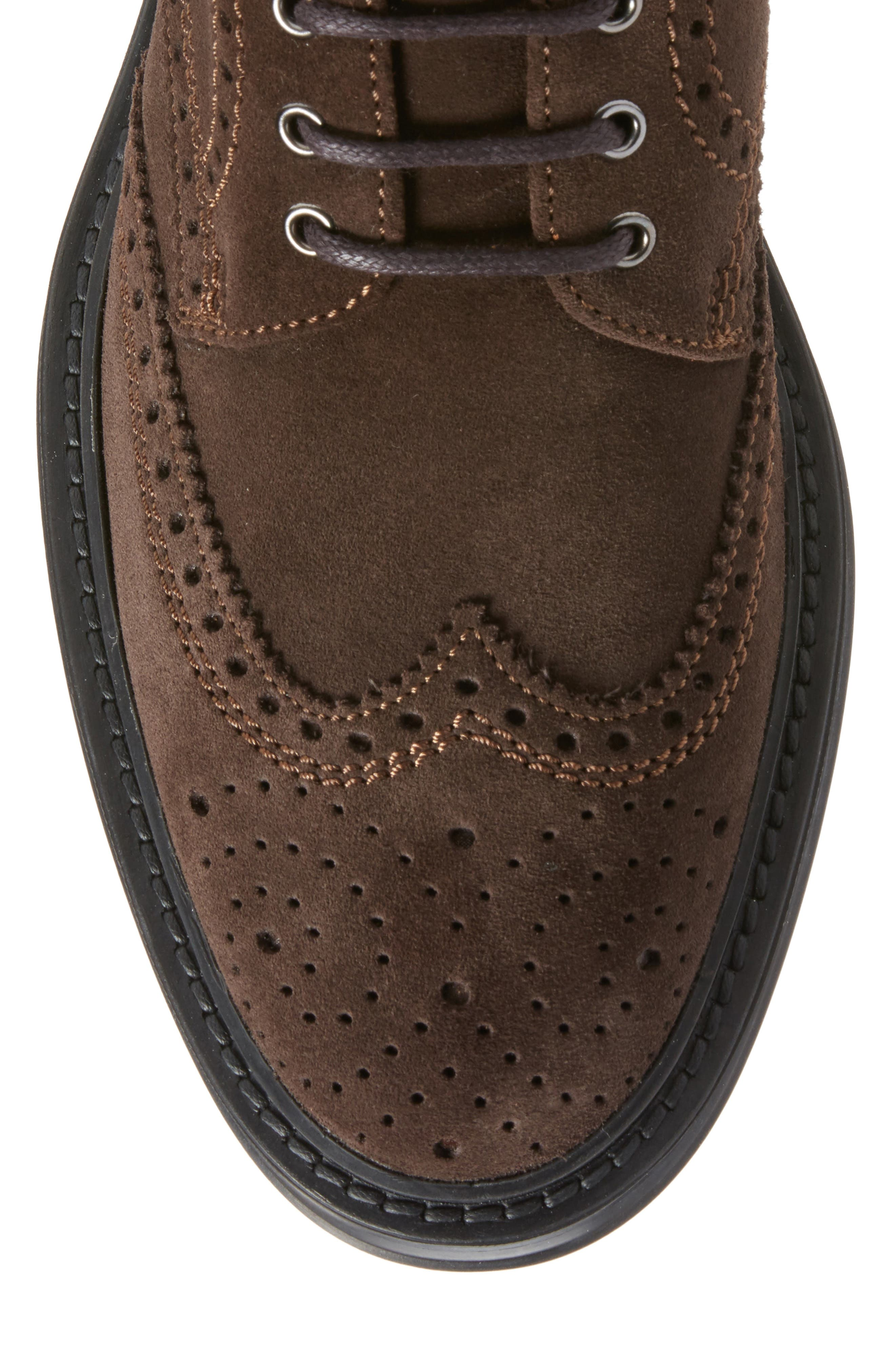 Lawrence Wingtip Boot,                             Alternate thumbnail 5, color,                             201
