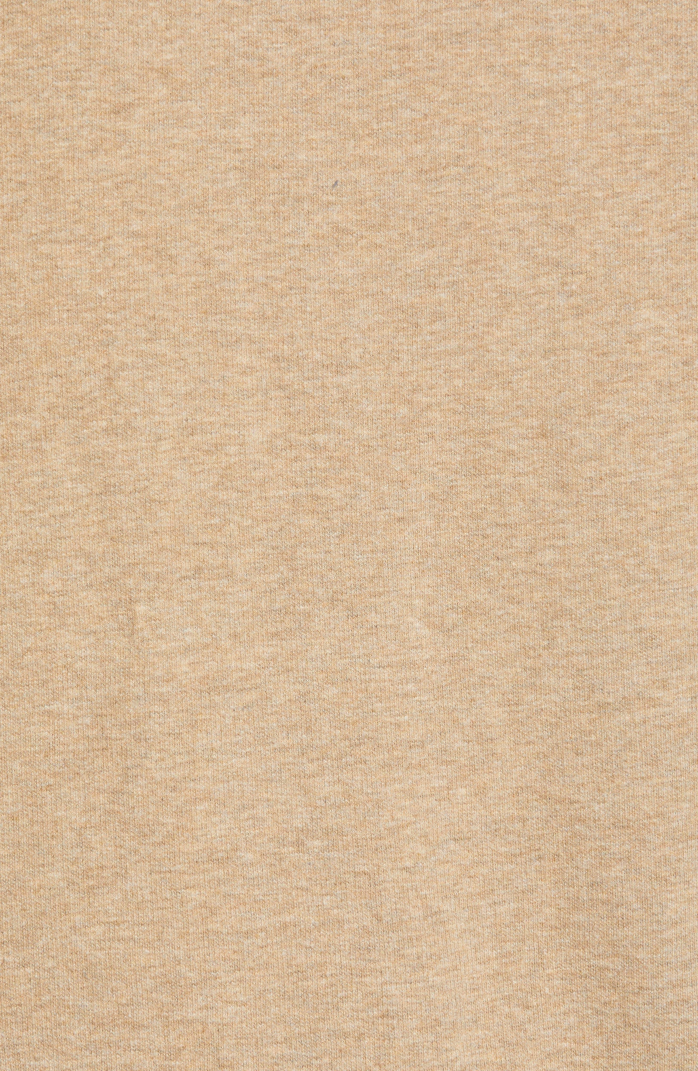 Flip Side Reversible Zip Vest,                             Alternate thumbnail 7, color,                             GOLDEN HONEY HEATHER