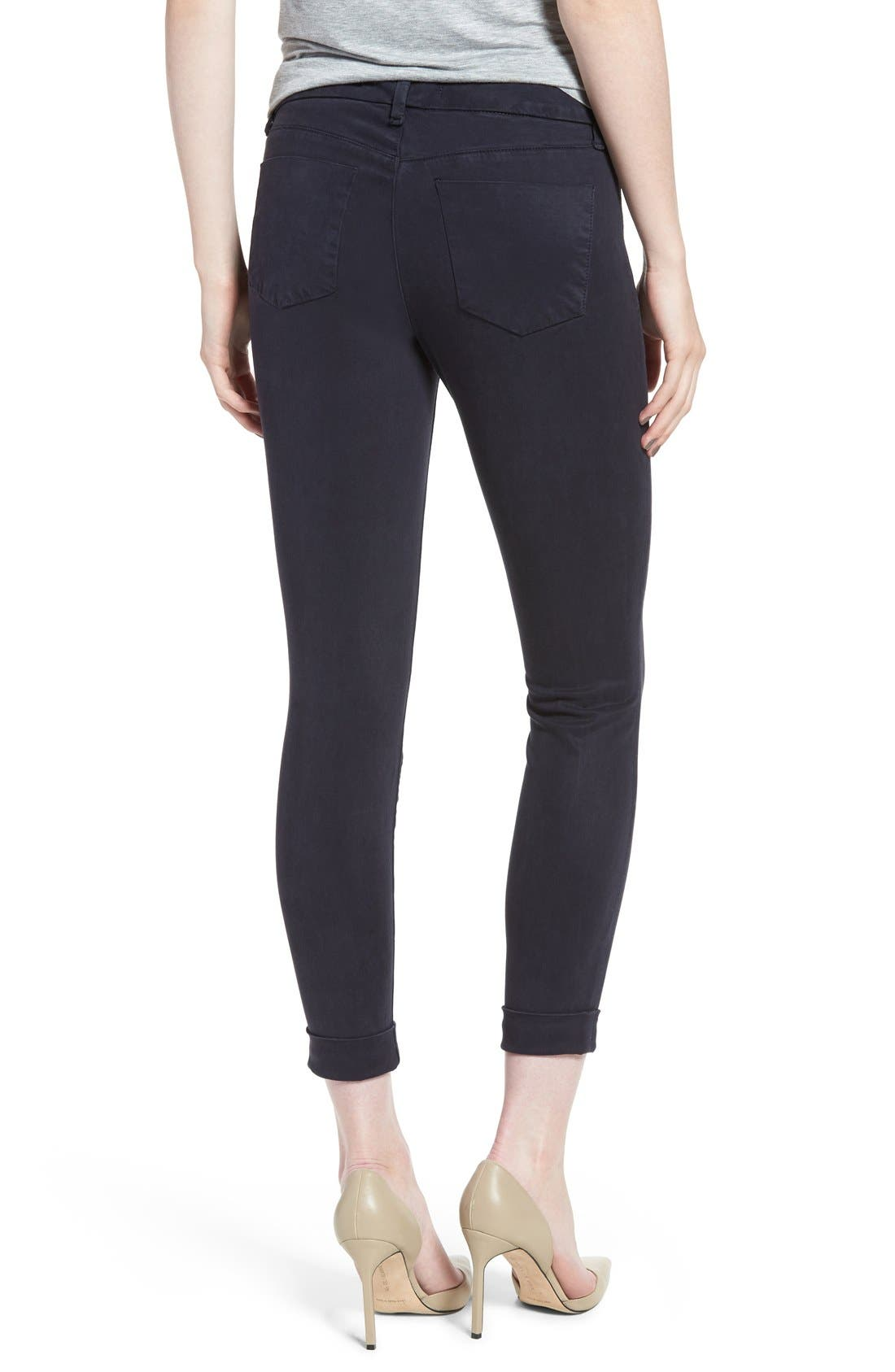 High Waist Ankle Super Skinny Jeans,                             Alternate thumbnail 66, color,