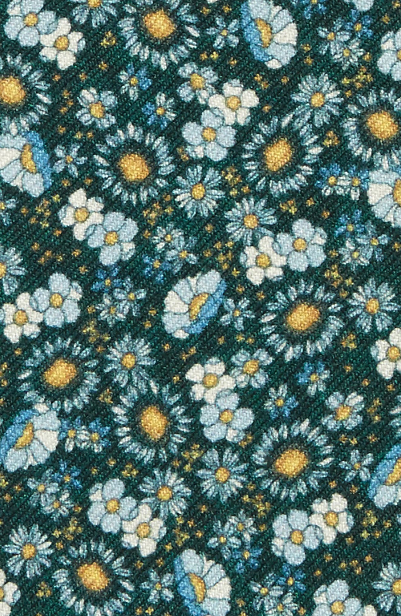 Flower City Wool Pocket Square,                             Alternate thumbnail 3, color,                             307