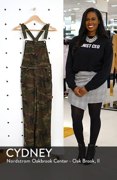 Camouflage Corduroy Overalls, sales video thumbnail