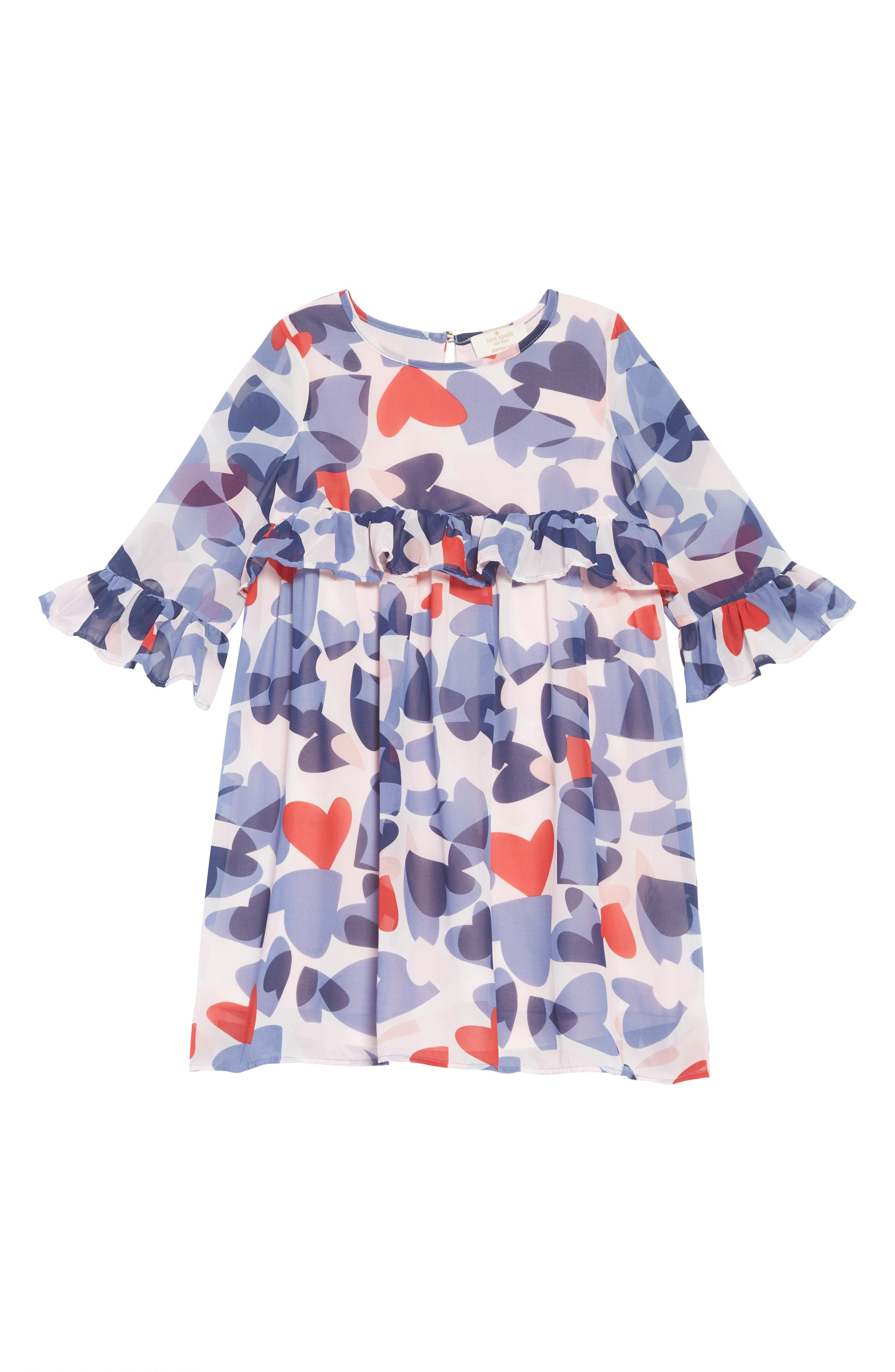 confetti hearts dress,                             Main thumbnail 1, color,                             CONFETTI HEARTS