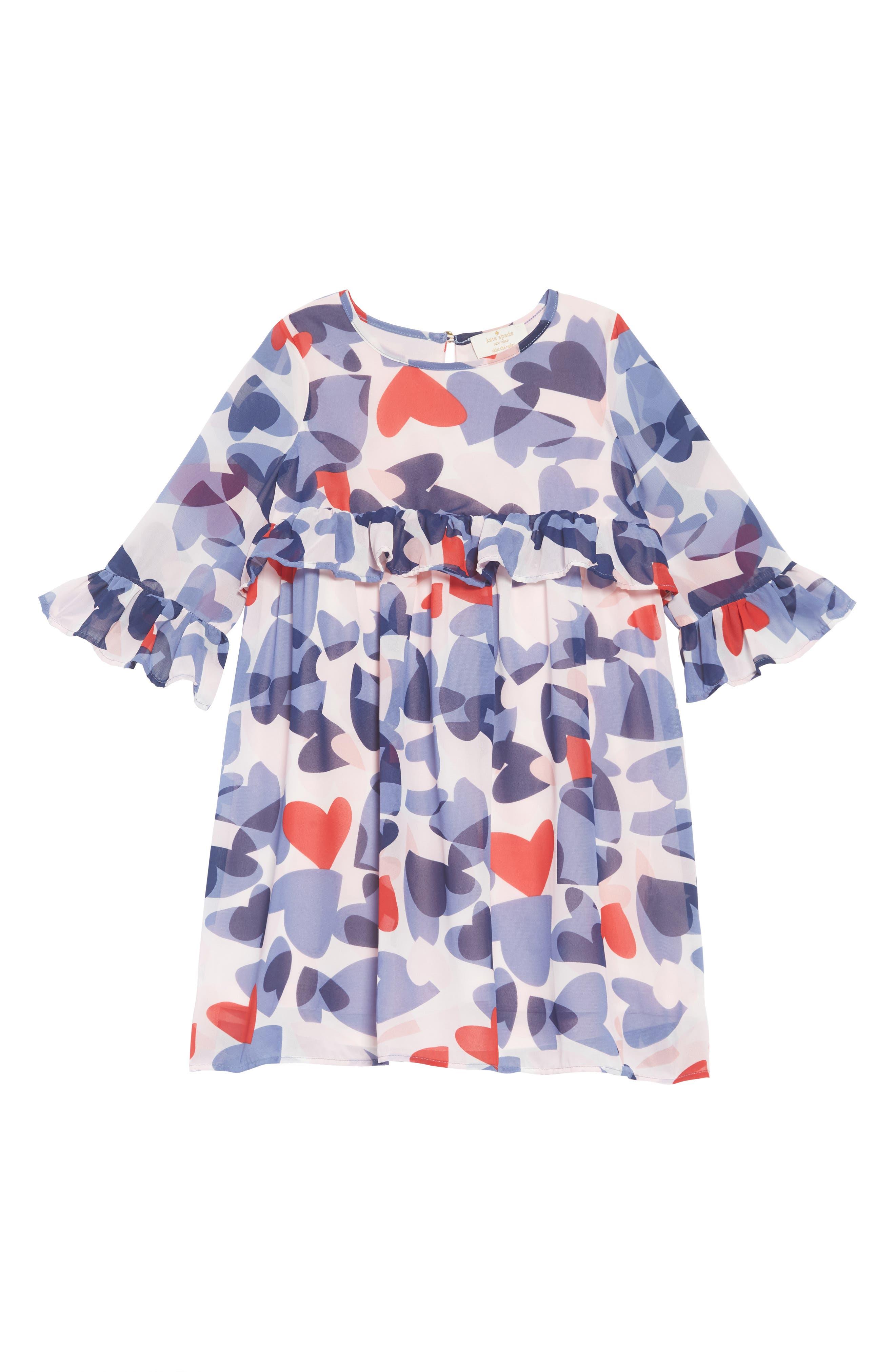 confetti hearts dress,                         Main,                         color, CONFETTI HEARTS