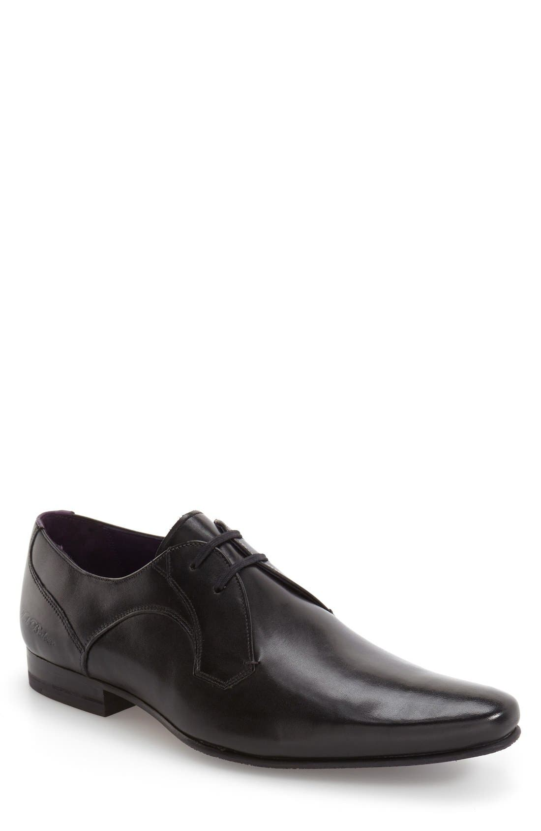 'Martt 2' Plain Toe Derby,                             Main thumbnail 1, color,                             001