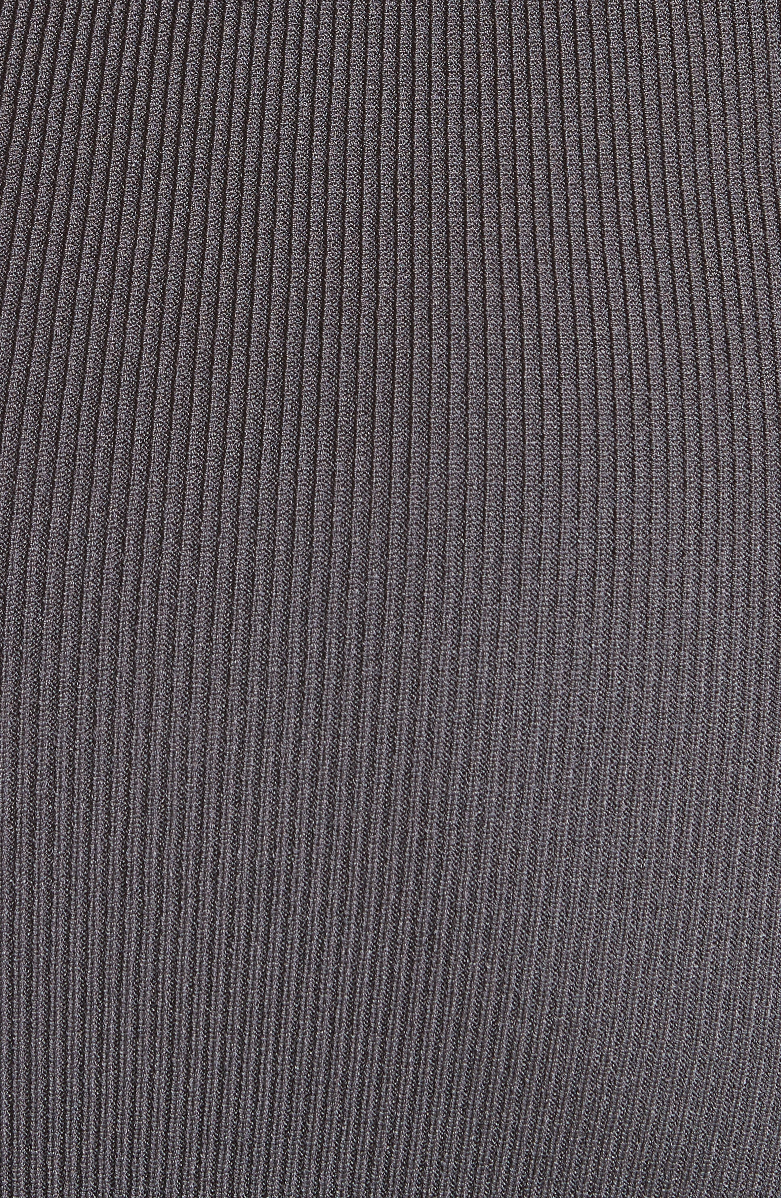 Alsia Cutout Knit Dress,                             Alternate thumbnail 6, color,                             028