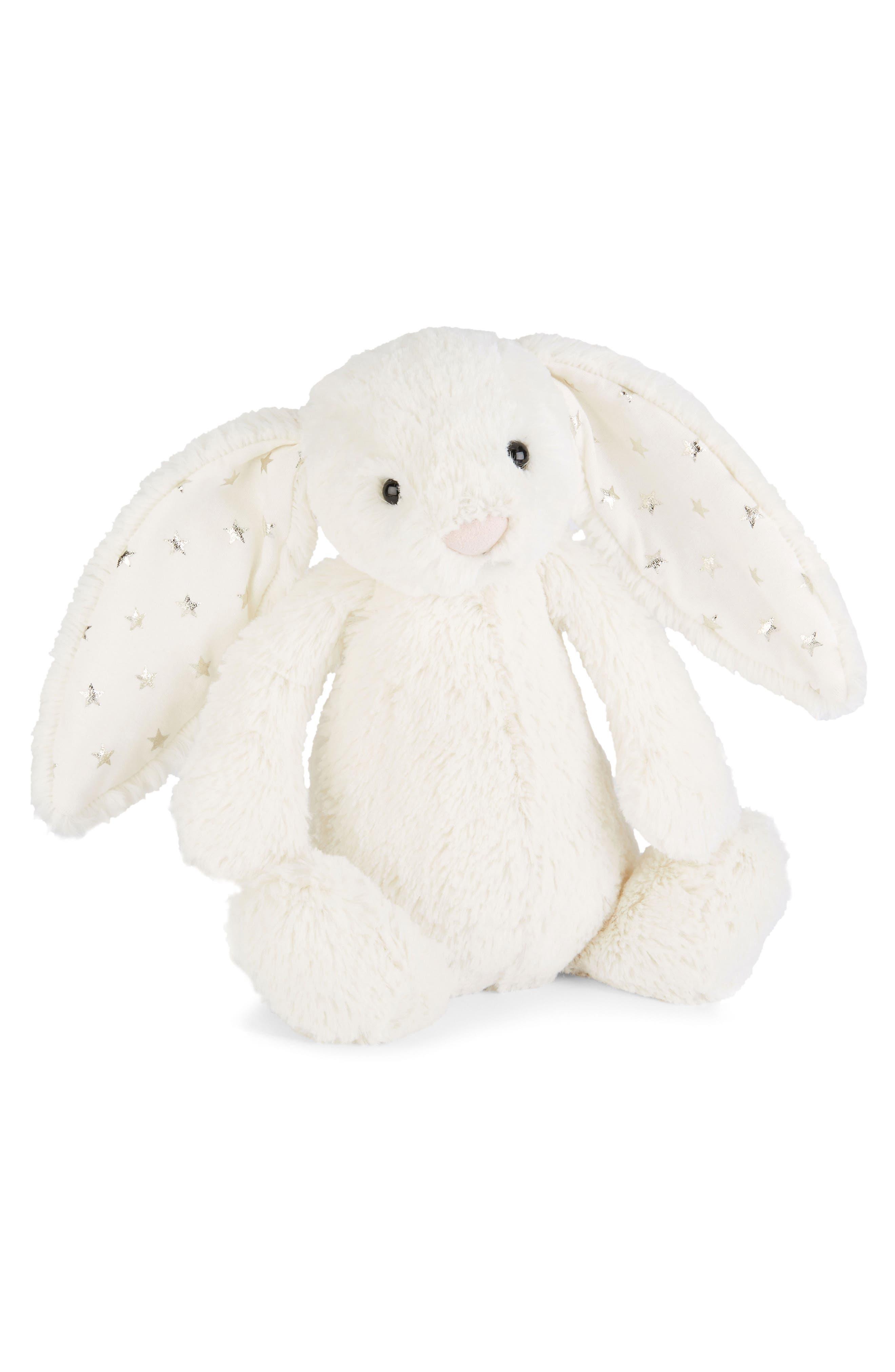 Twinkle Bunny Stuffed Animal,                             Main thumbnail 1, color,                             102