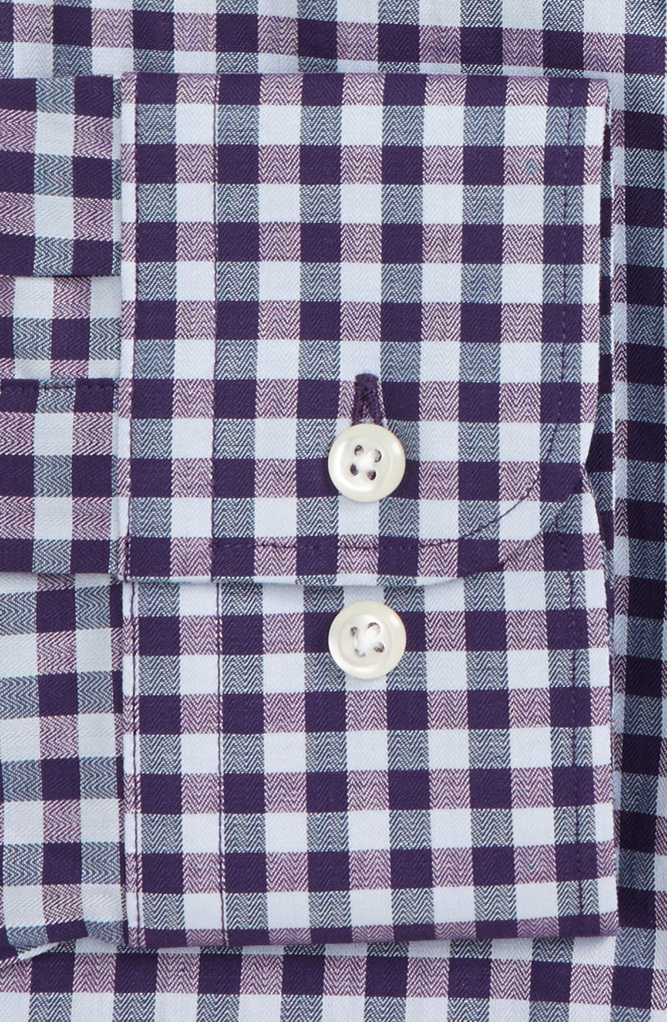 Trim Fit Check Dress Shirt,                             Alternate thumbnail 2, color,                             520