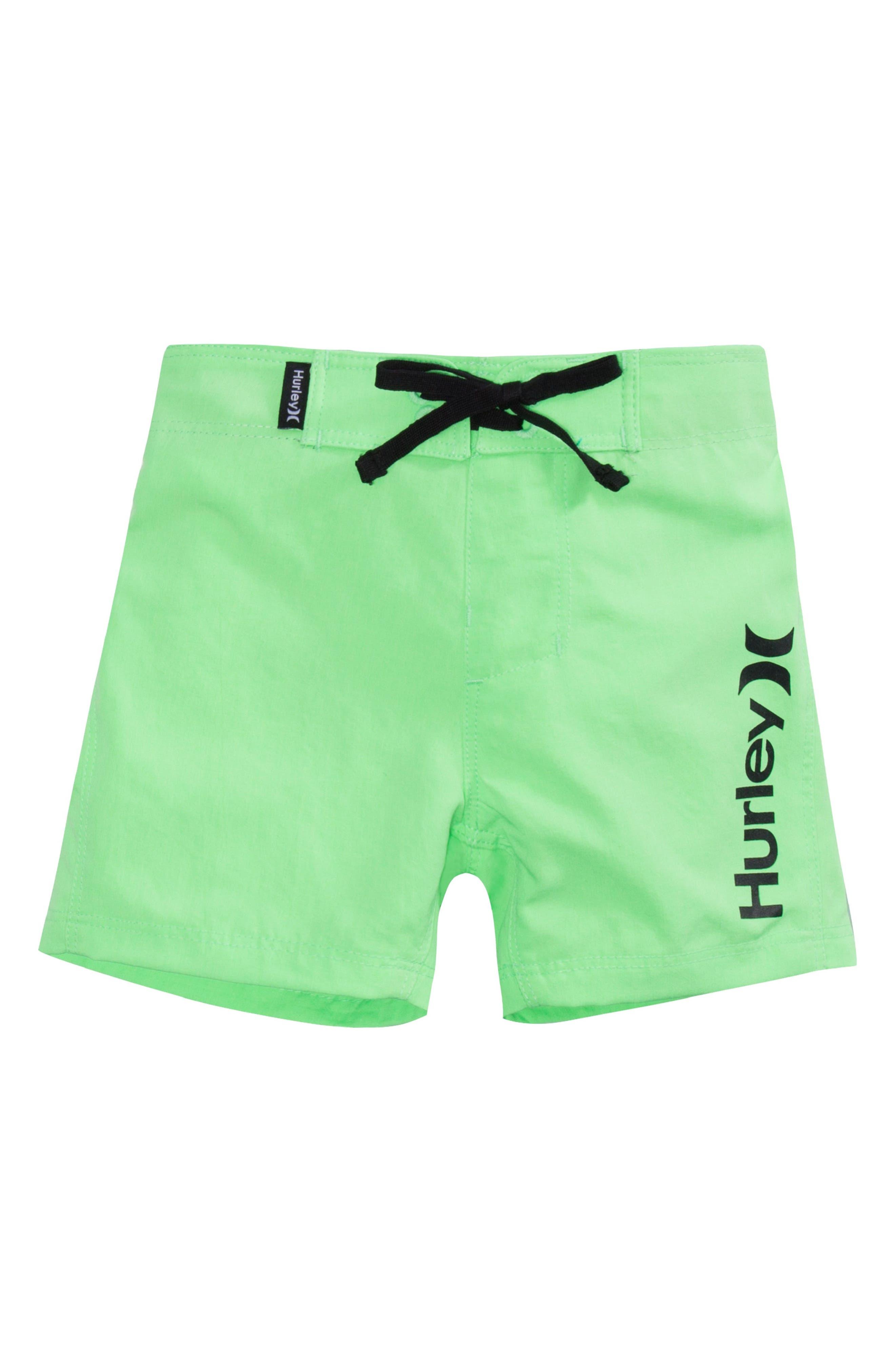 HURLEY Line Up Board Shorts, Main, color, 361