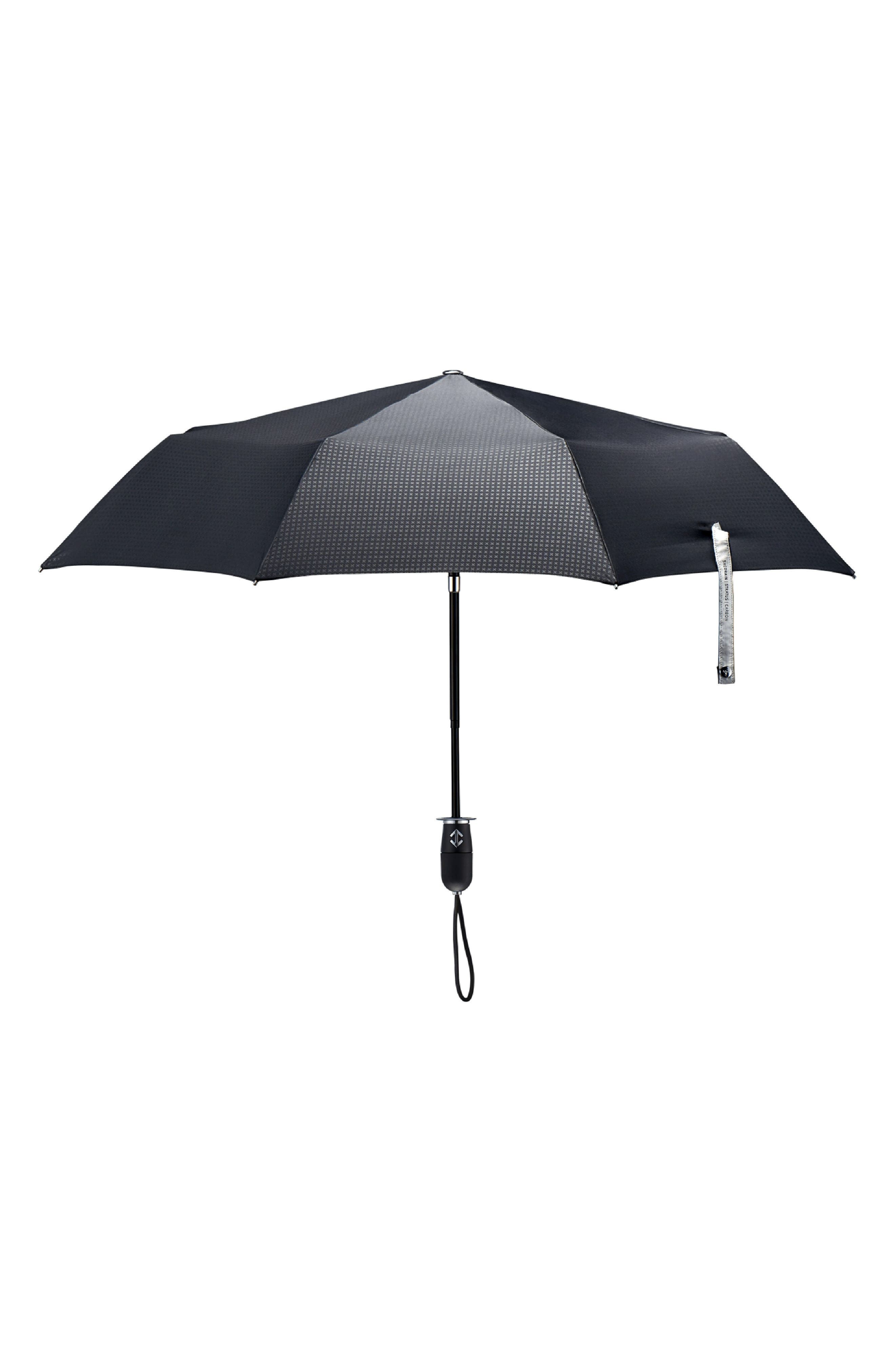 Stratus Auto Open Stick Umbrella,                             Main thumbnail 1, color,                             001