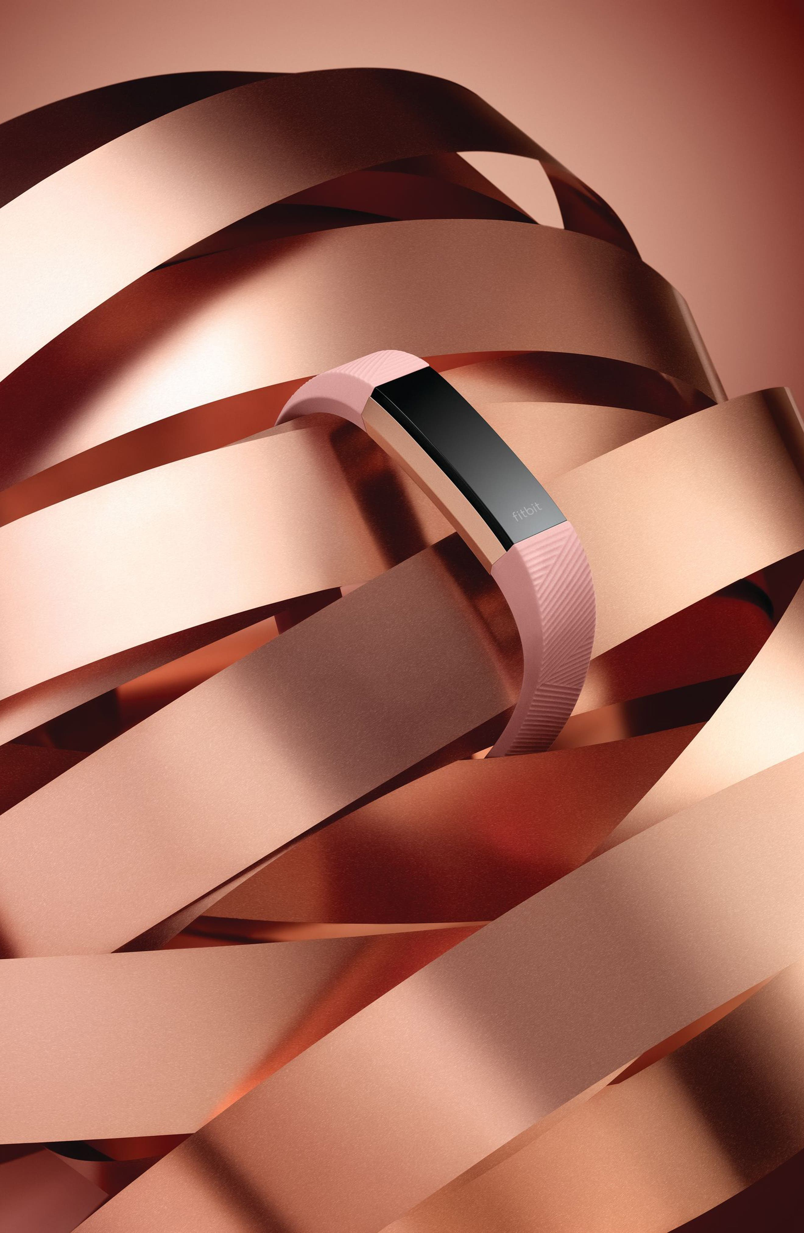 Special Edition Alta HR Wireless Heart Rate and Fitness Tracker,                             Alternate thumbnail 4, color,                             PINK ROSE GOLD