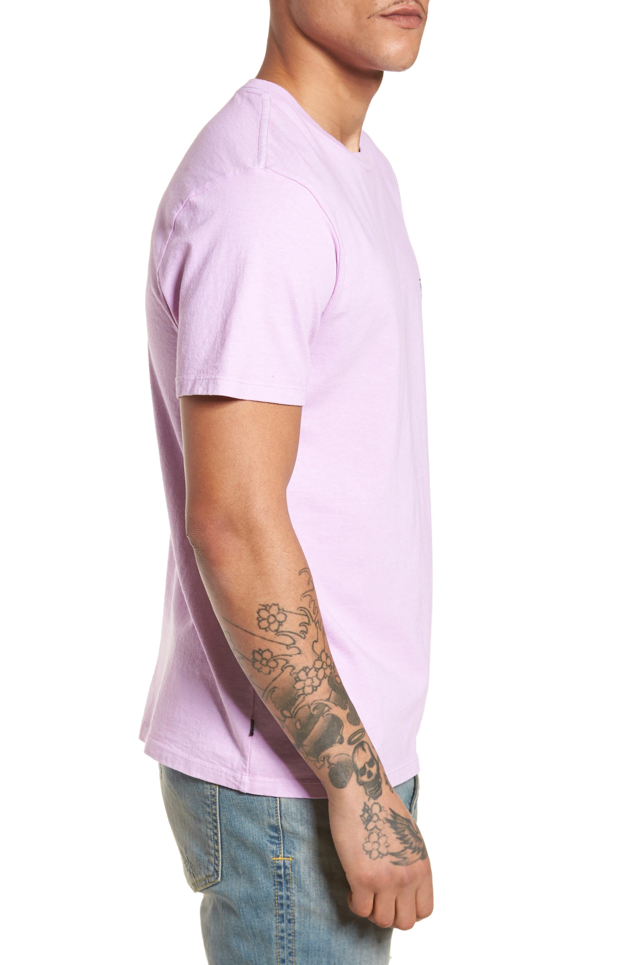 Flashback Pigment Dyed T-Shirt,                             Alternate thumbnail 3, color,                             534