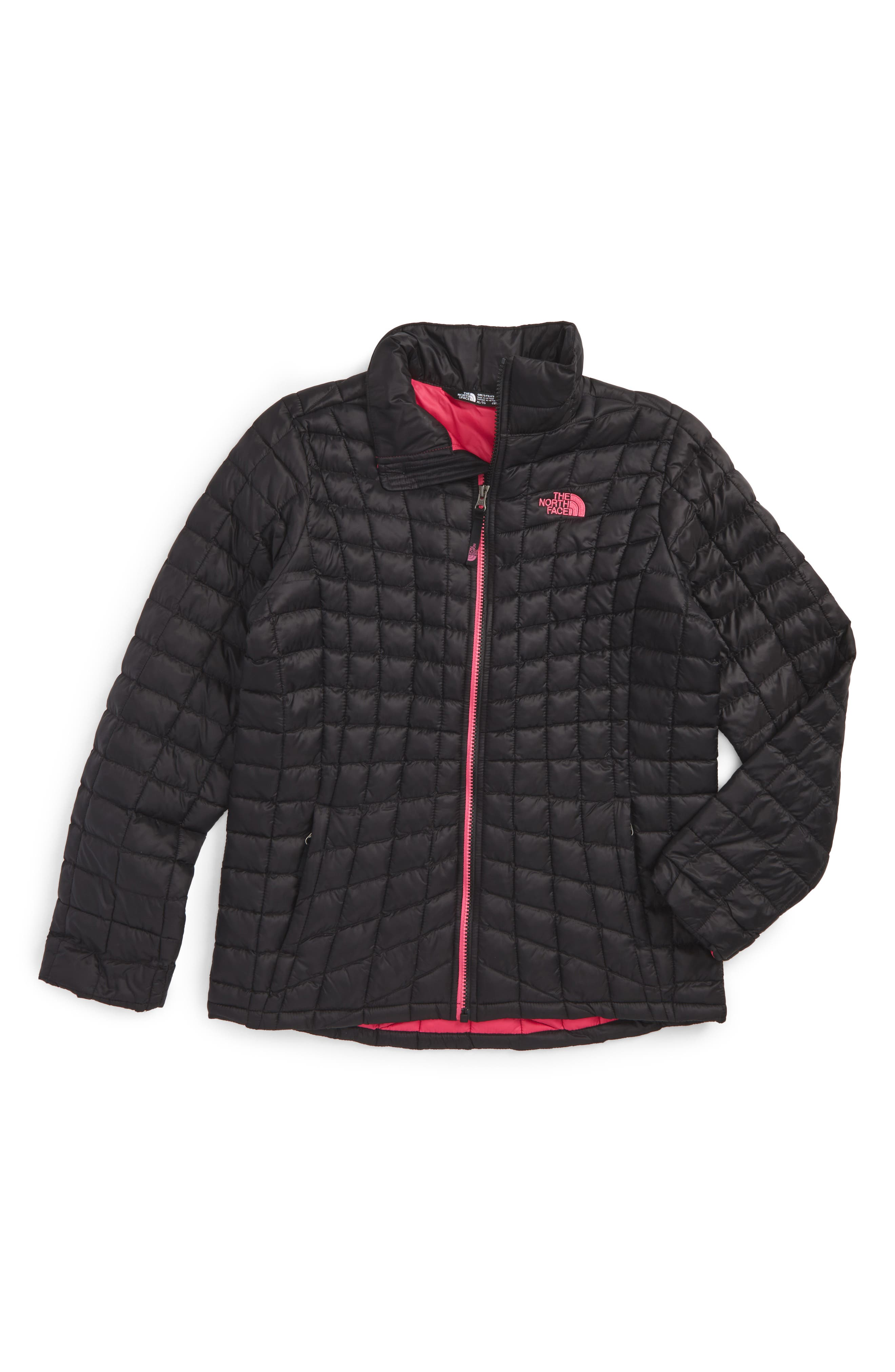 ThermoBall<sup>™</sup> PrimaLoft<sup>®</sup> Quilted Jacket,                         Main,                         color, 001