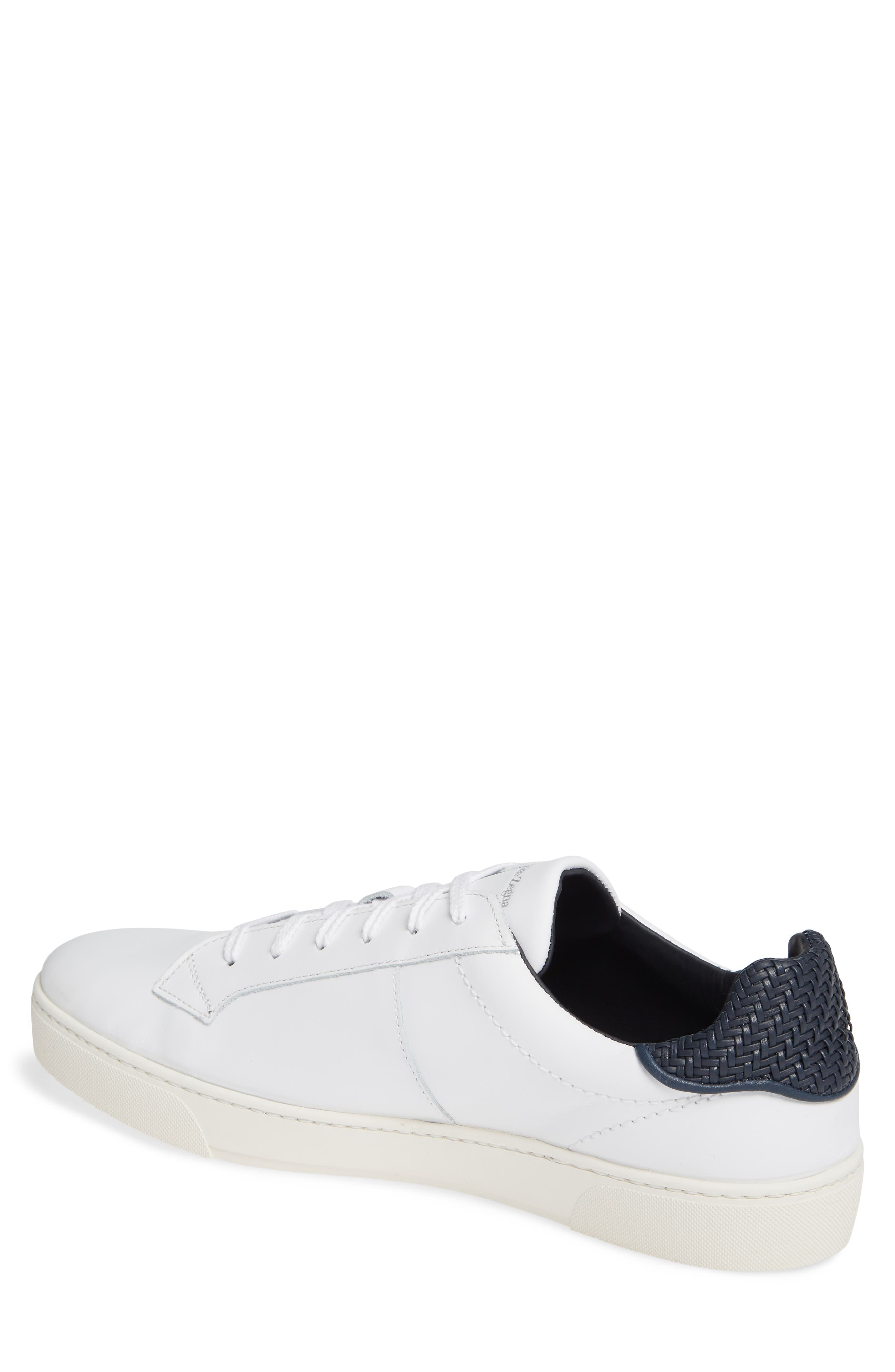 Sneaker,                             Alternate thumbnail 2, color,                             WHITE/ BLUE
