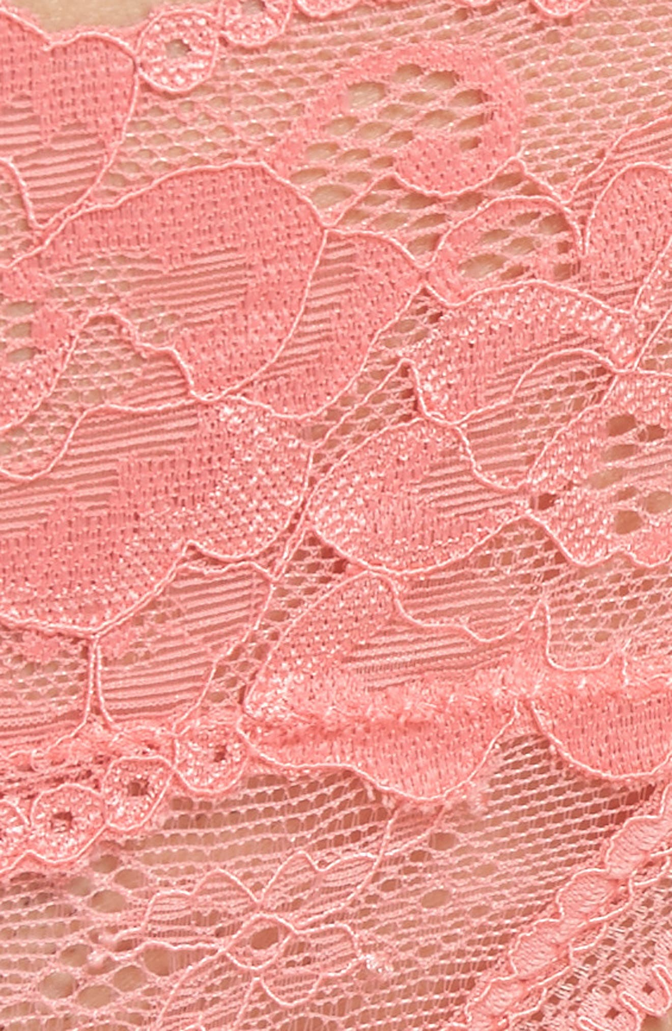 Honeydew Lace Thong,                             Alternate thumbnail 75, color,