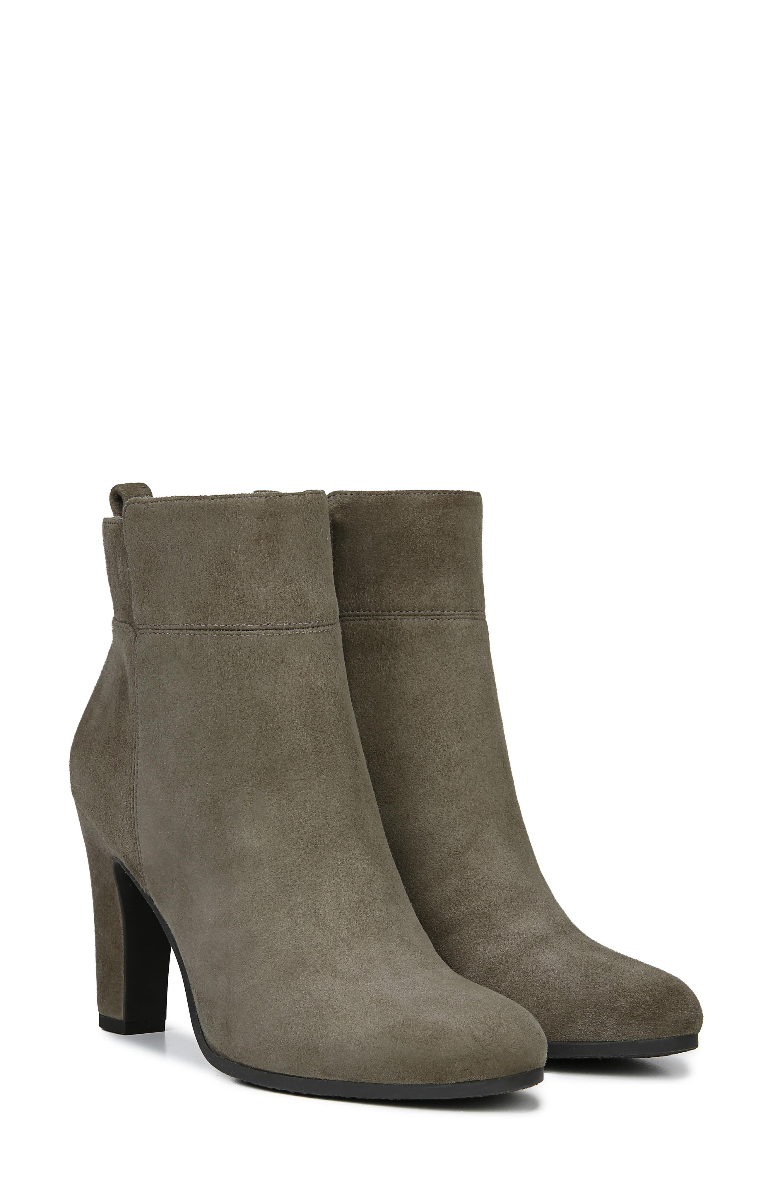 Sianna Bootie,                             Alternate thumbnail 8, color,                             FLINT GREY SUEDE