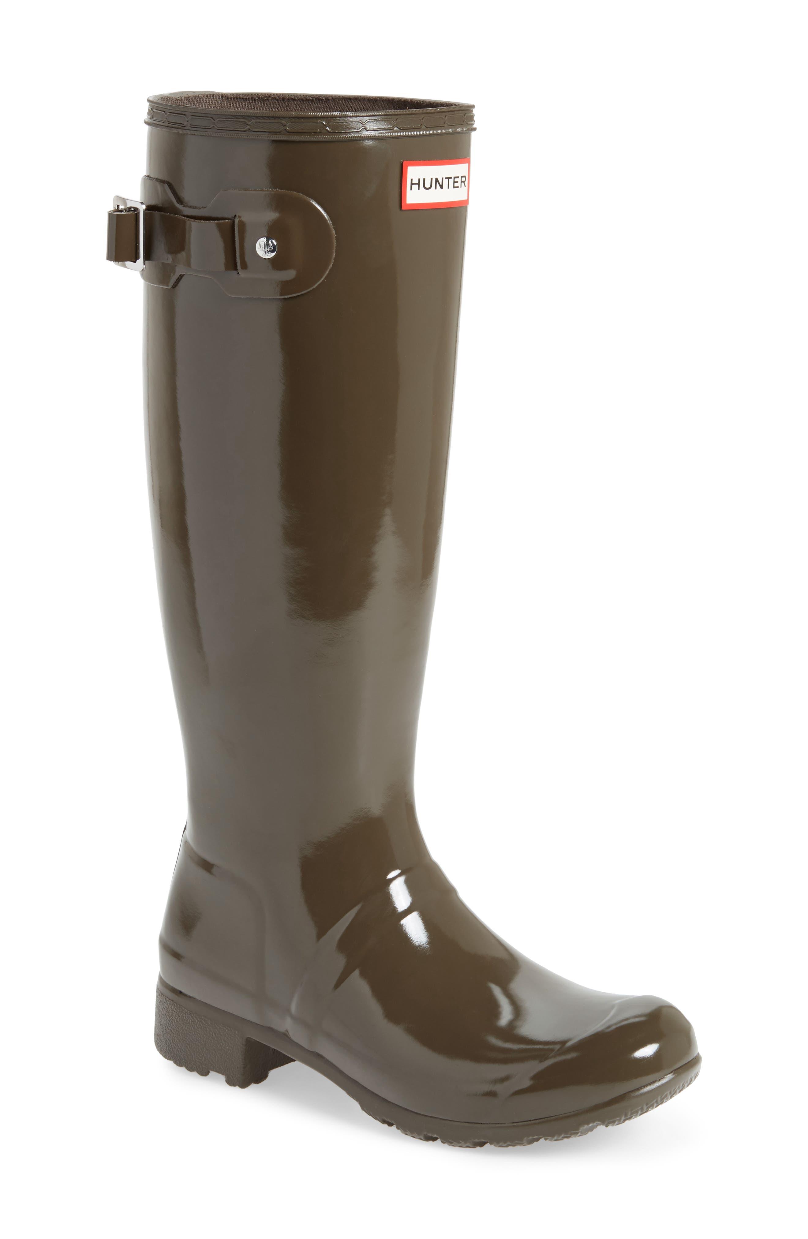 Original Tour Gloss Packable Rain Boot,                             Main thumbnail 1, color,                             304