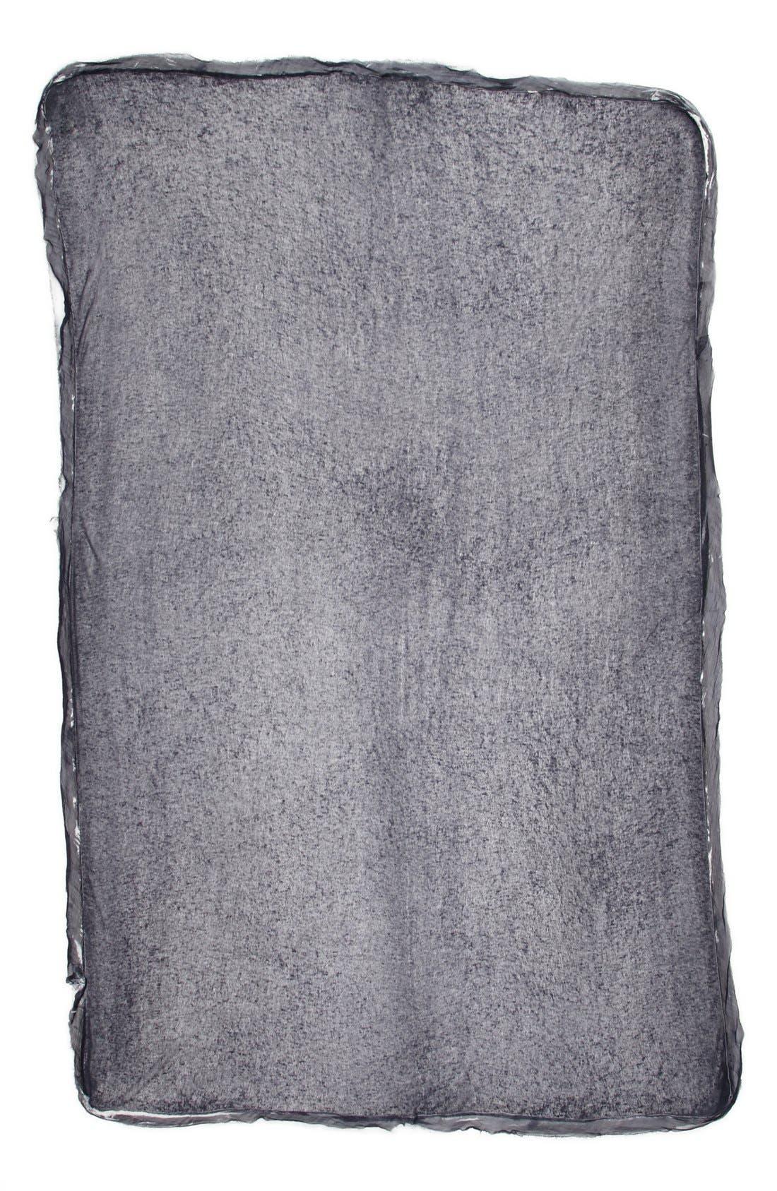 Silk & Cashmere Wrap,                             Alternate thumbnail 2, color,                             002