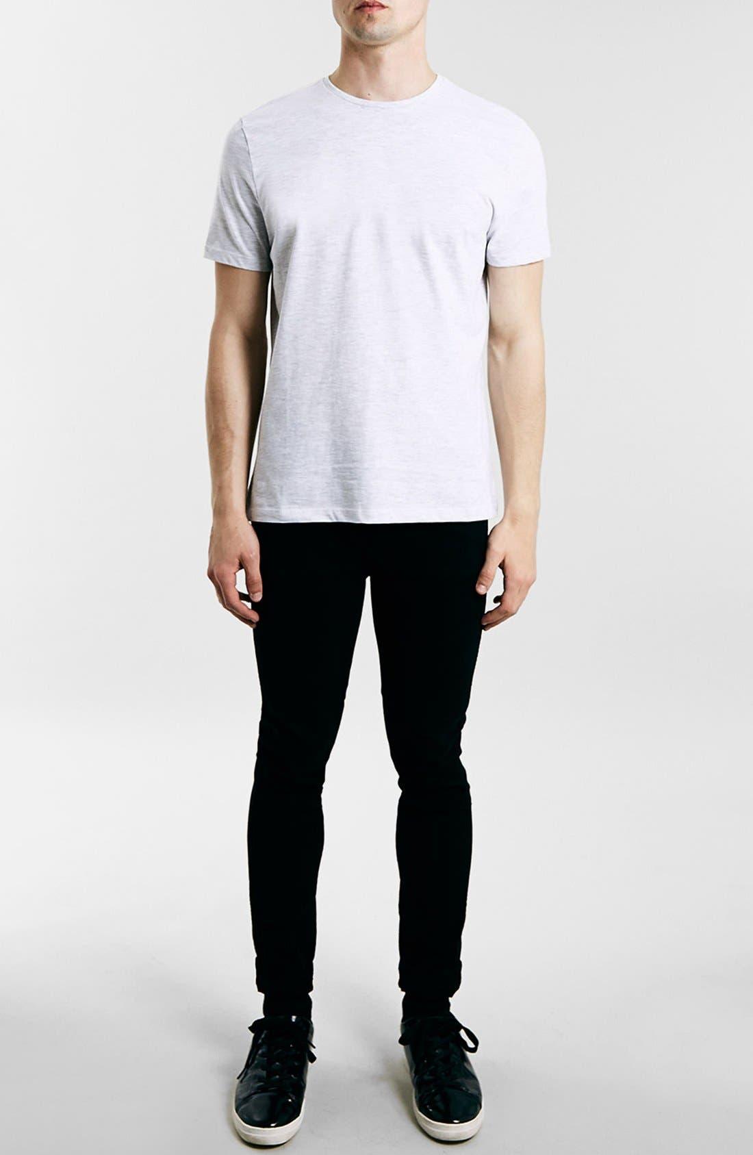 Slim Fit Crewneck T-Shirt,                             Alternate thumbnail 134, color,
