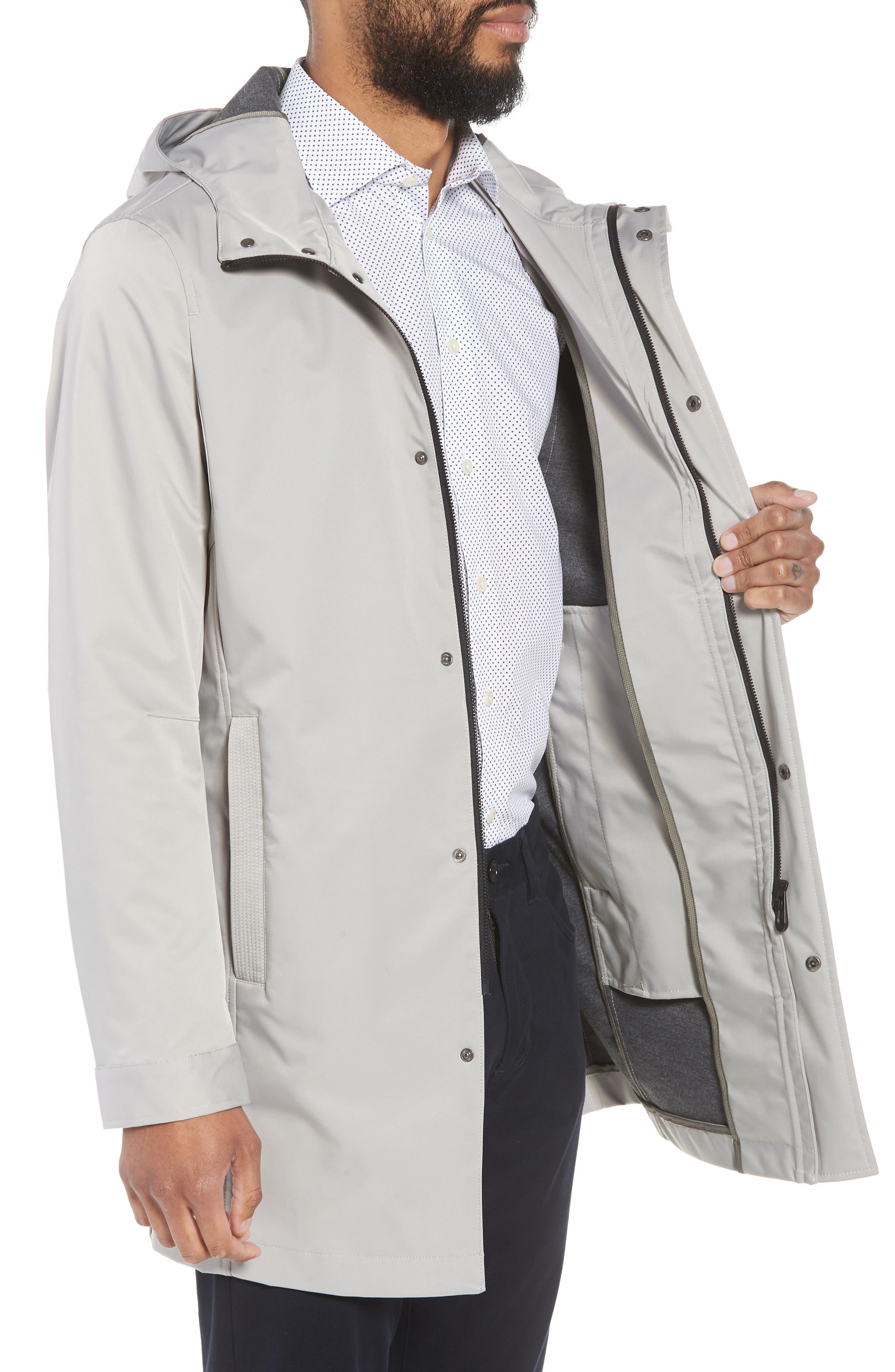 Verner Hooded Mac Jacket,                             Alternate thumbnail 3, color,                             250