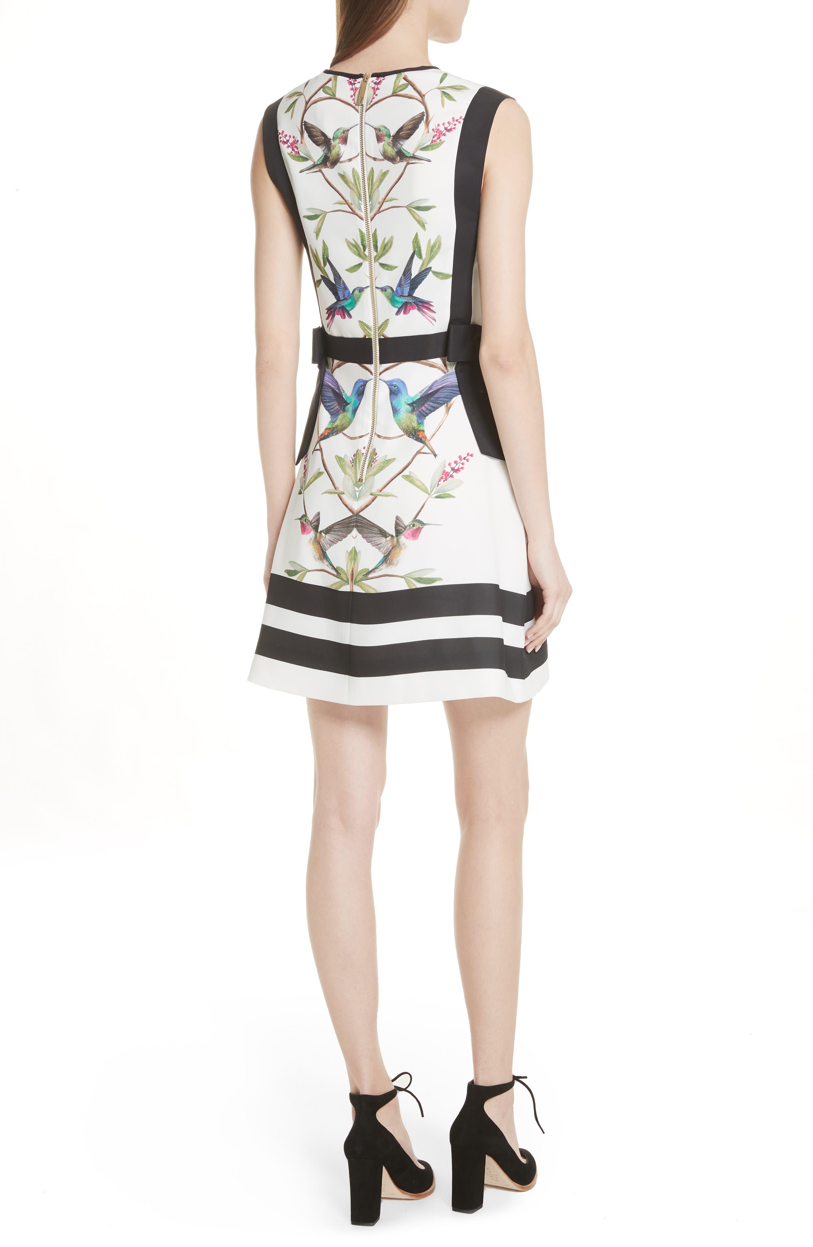 High Grove A-Line Dress,                             Alternate thumbnail 2, color,                             110