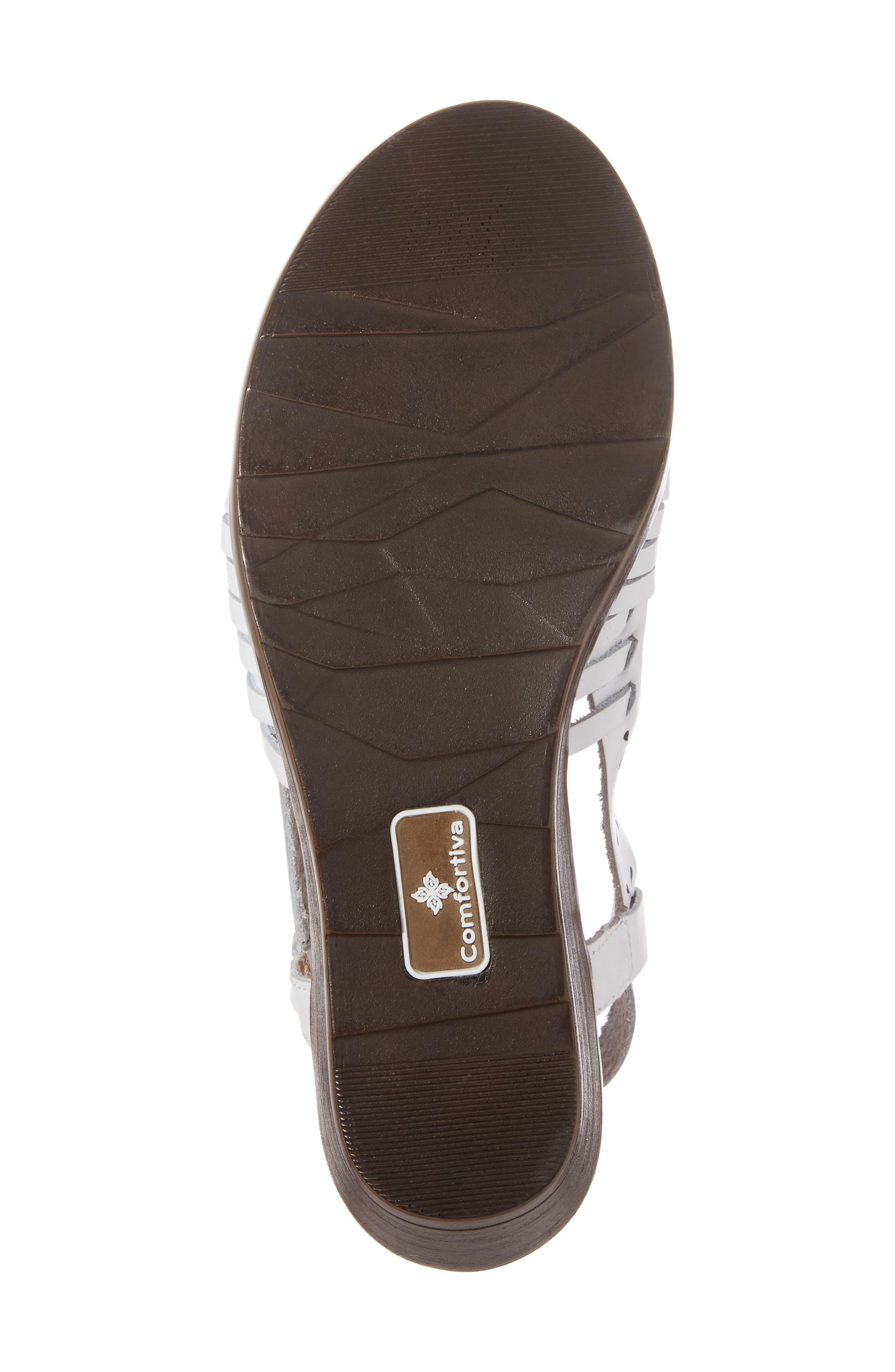 Formasa Huarache Slingback Sandal,                             Alternate thumbnail 6, color,                             100