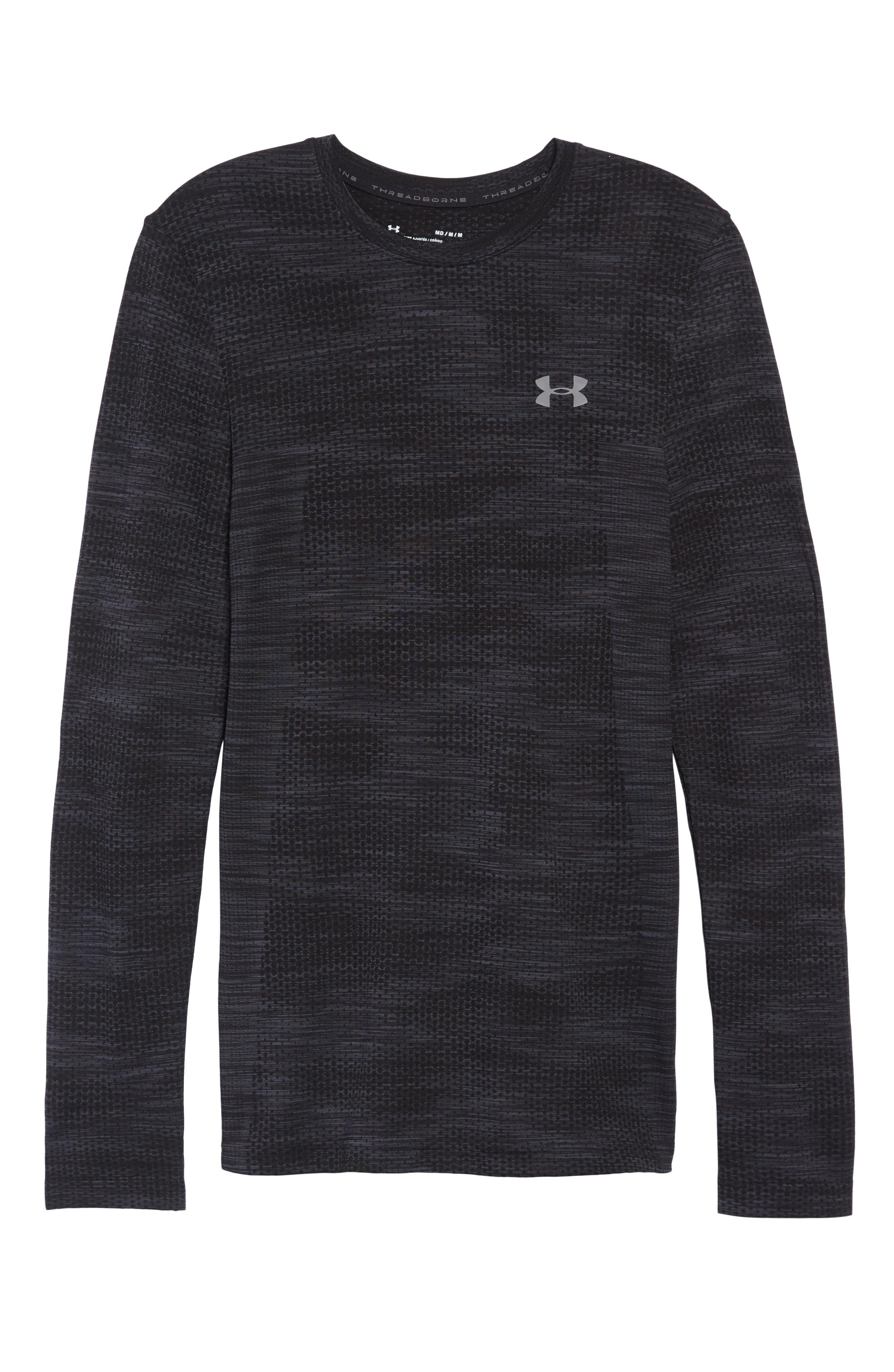 Siphon Long Sleeve Camo T-Shirt,                             Alternate thumbnail 6, color,                             001