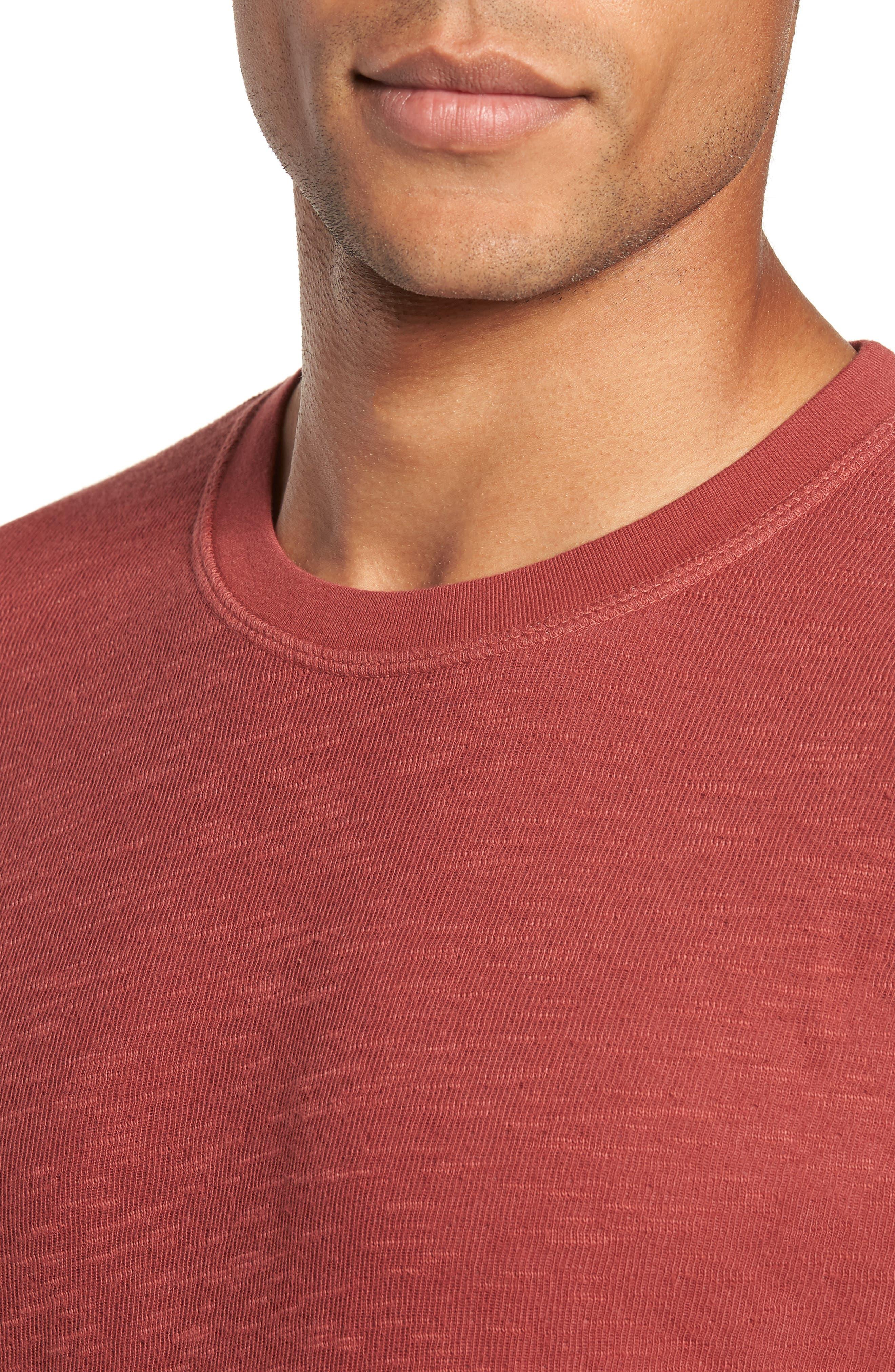 Double Layer Slim Crewneck T-Shirt,                             Alternate thumbnail 23, color,