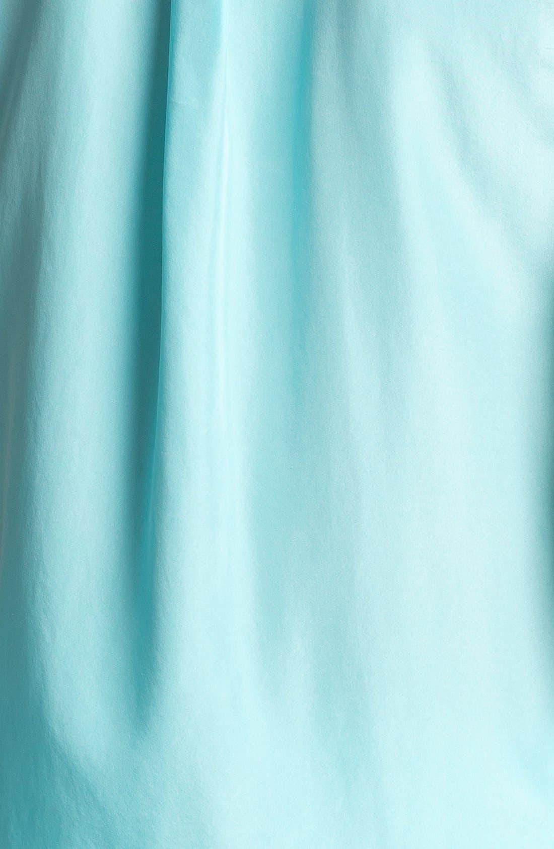 'Slim Signature' Sleeveless Silk Shirt,                             Alternate thumbnail 71, color,