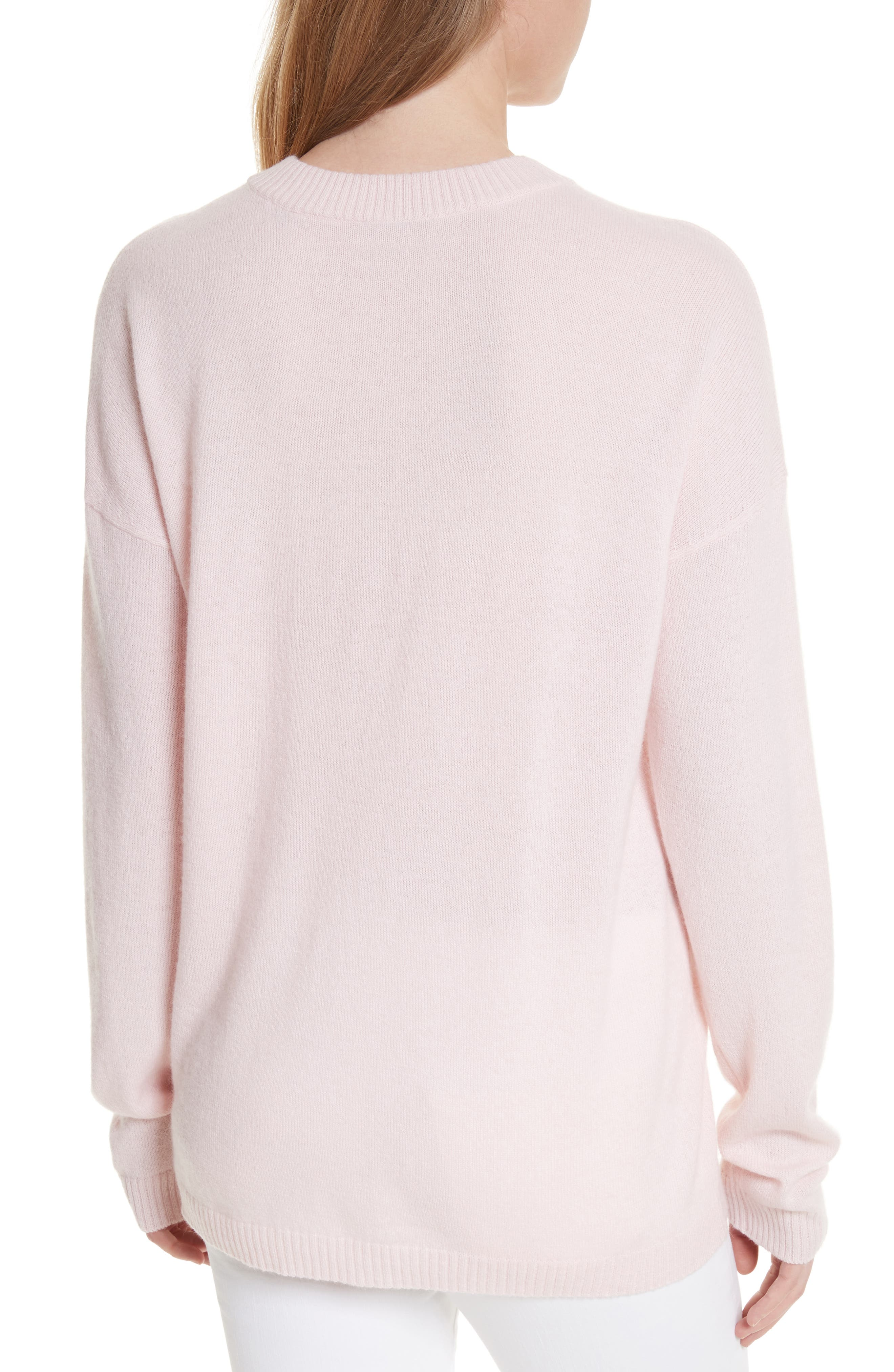 Bryce Oversize Cashmere Sweater,                             Alternate thumbnail 2, color,                             650