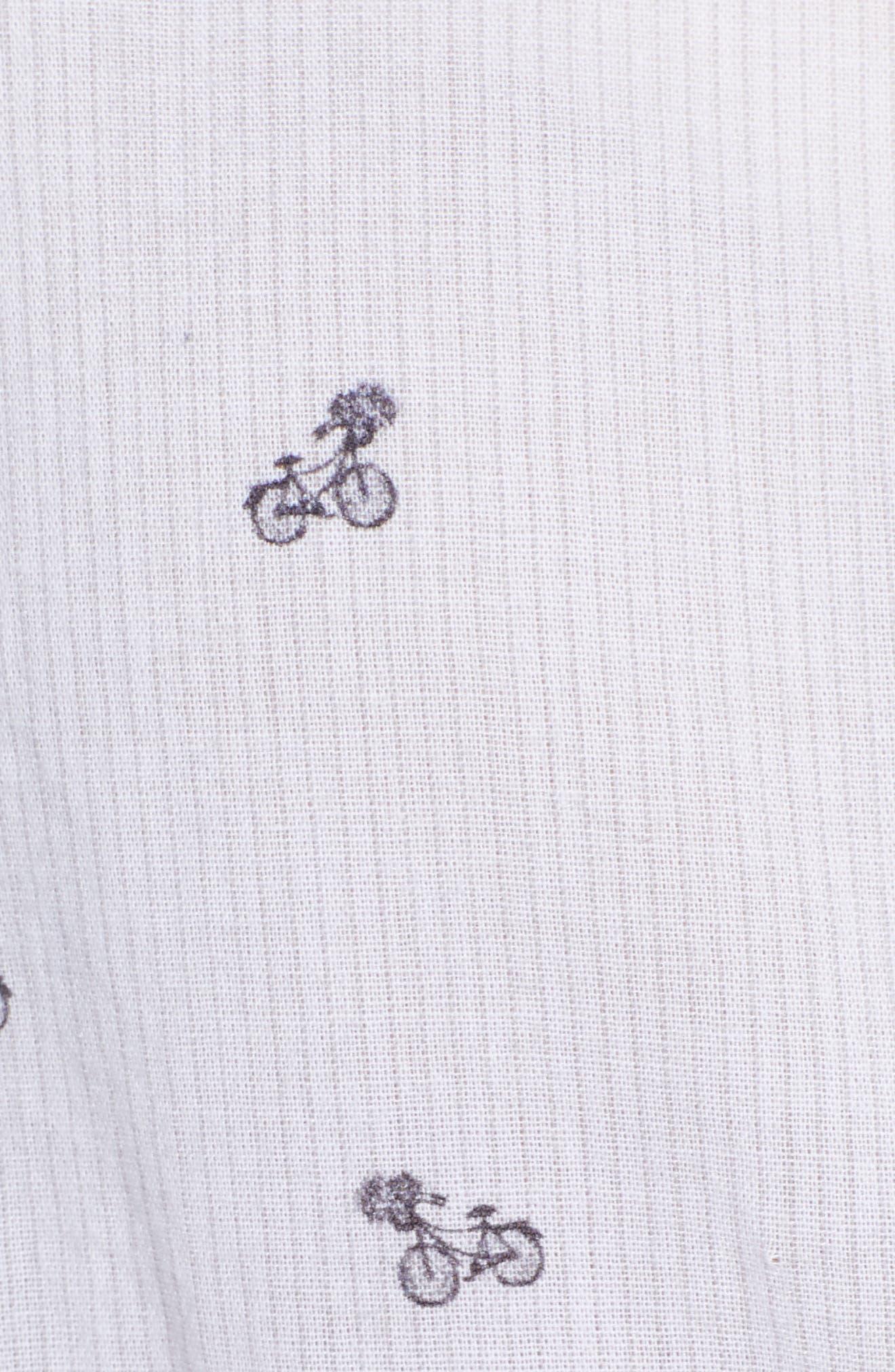 Taylor Star Stripe Shirt,                             Alternate thumbnail 6, color,                             LITTLE PARIS