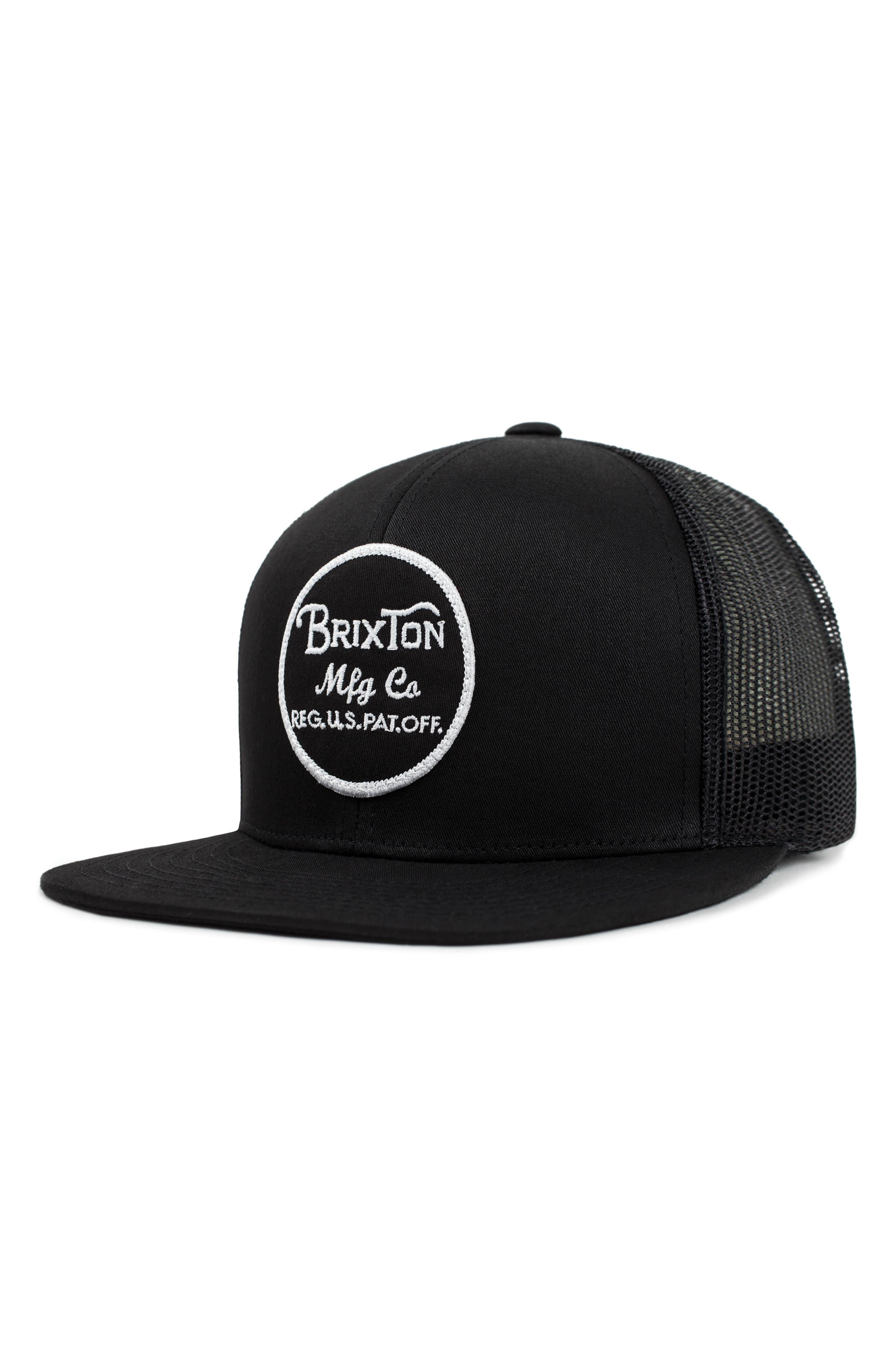 'Brood' Snapback Cap,                             Alternate thumbnail 2, color,                             BLACK/ BLACK