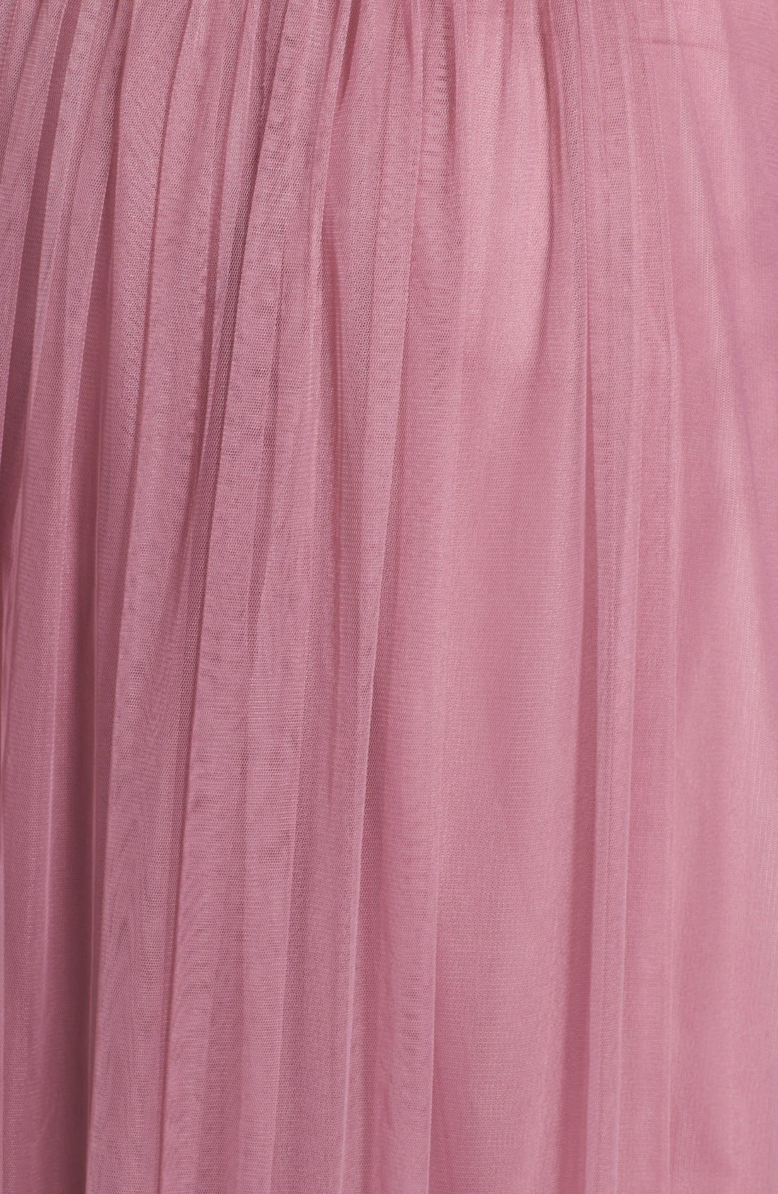 Annabelle Convertible Tulle Column Dress,                             Alternate thumbnail 58, color,