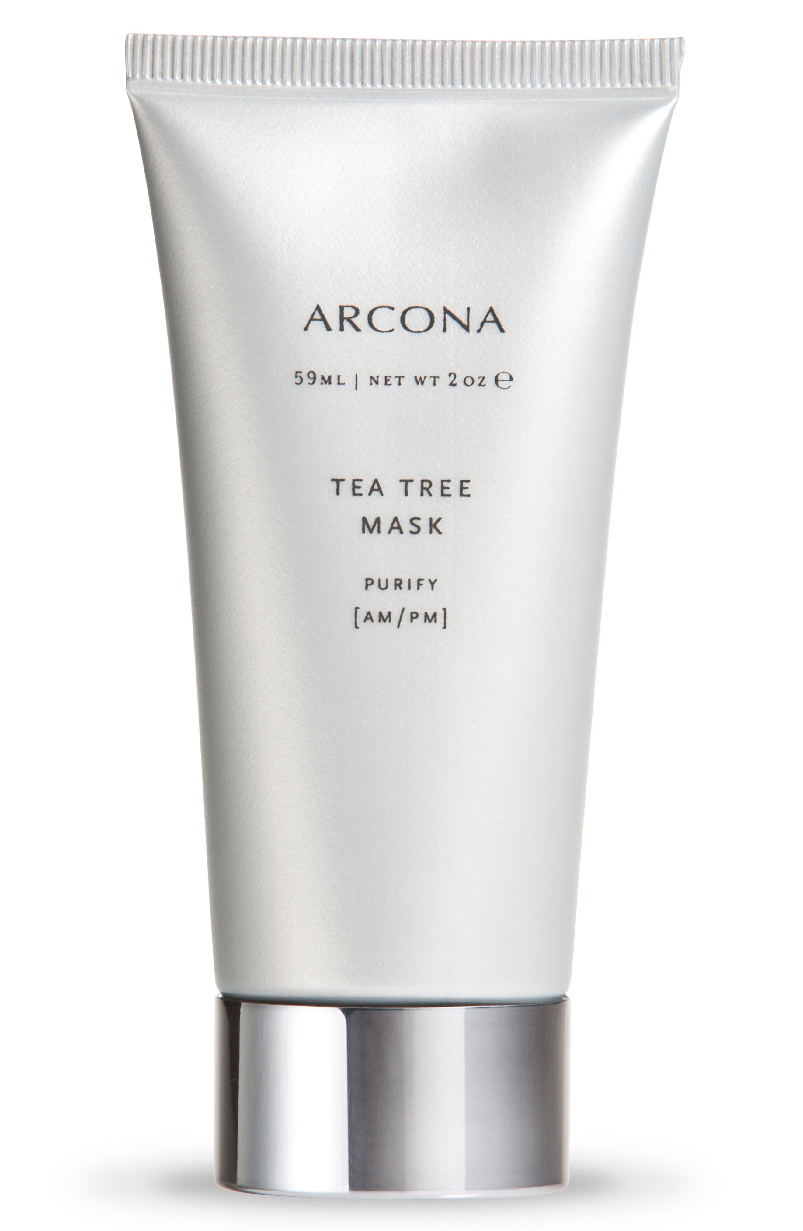 Tea Tree Mask,                         Main,                         color, NO COLOR