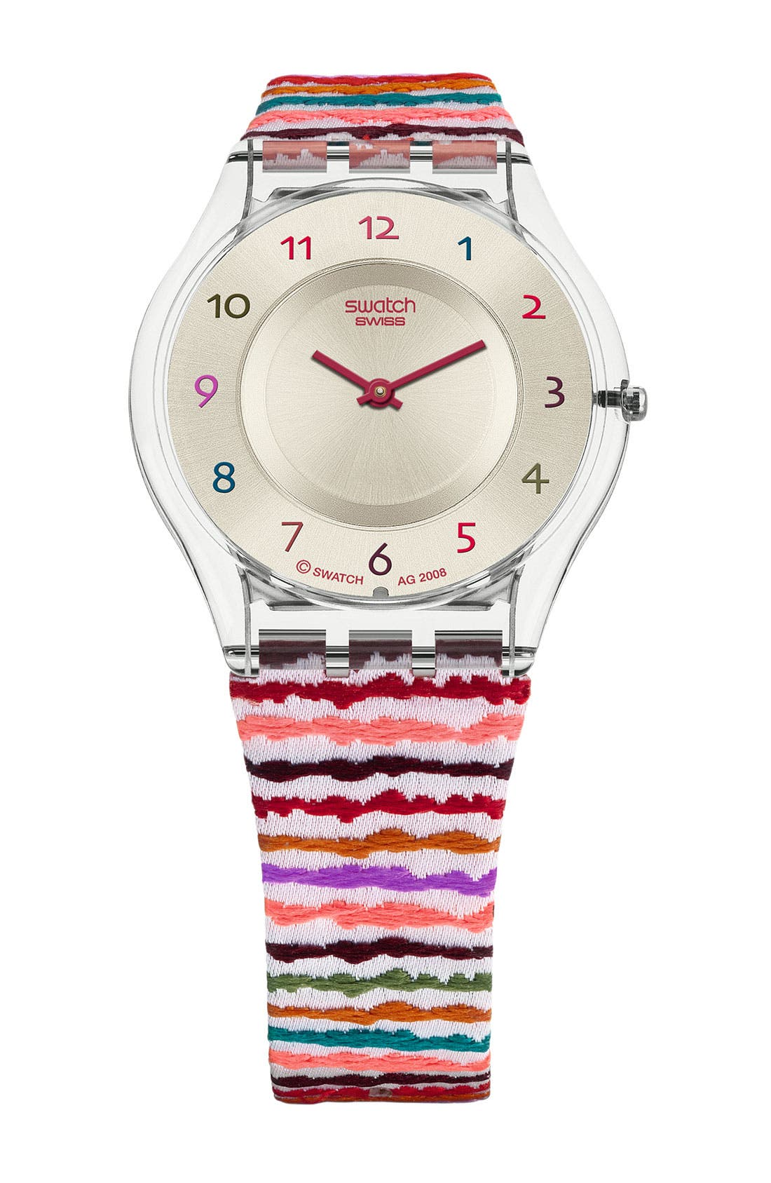 'Sliding Waves' Watch, Main, color, 960