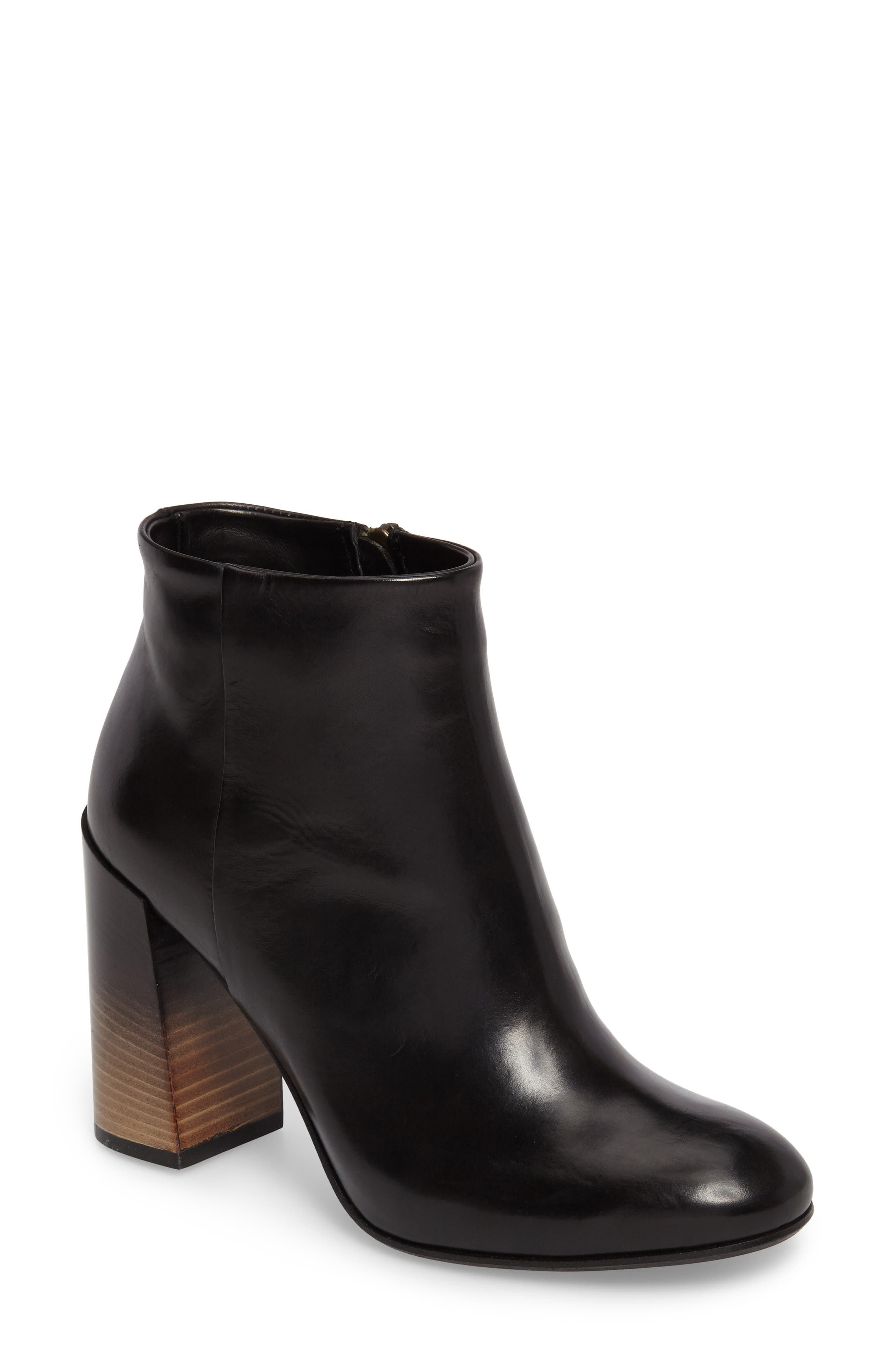 Milena Dégradé Heel Bootie,                         Main,                         color, 010