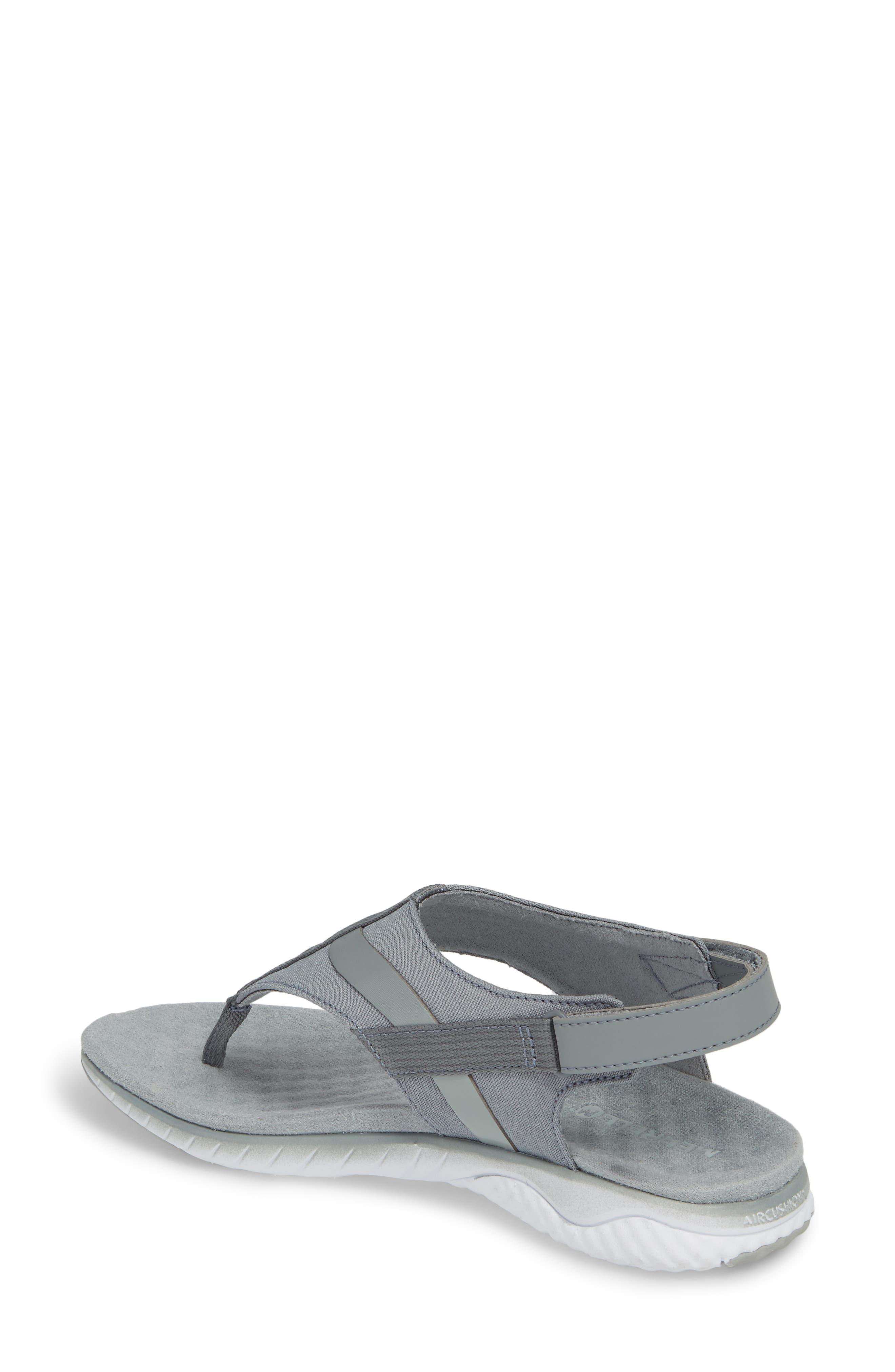1SIX8 Linna Slide Air Cushion+ Sandal,                             Alternate thumbnail 6, color,