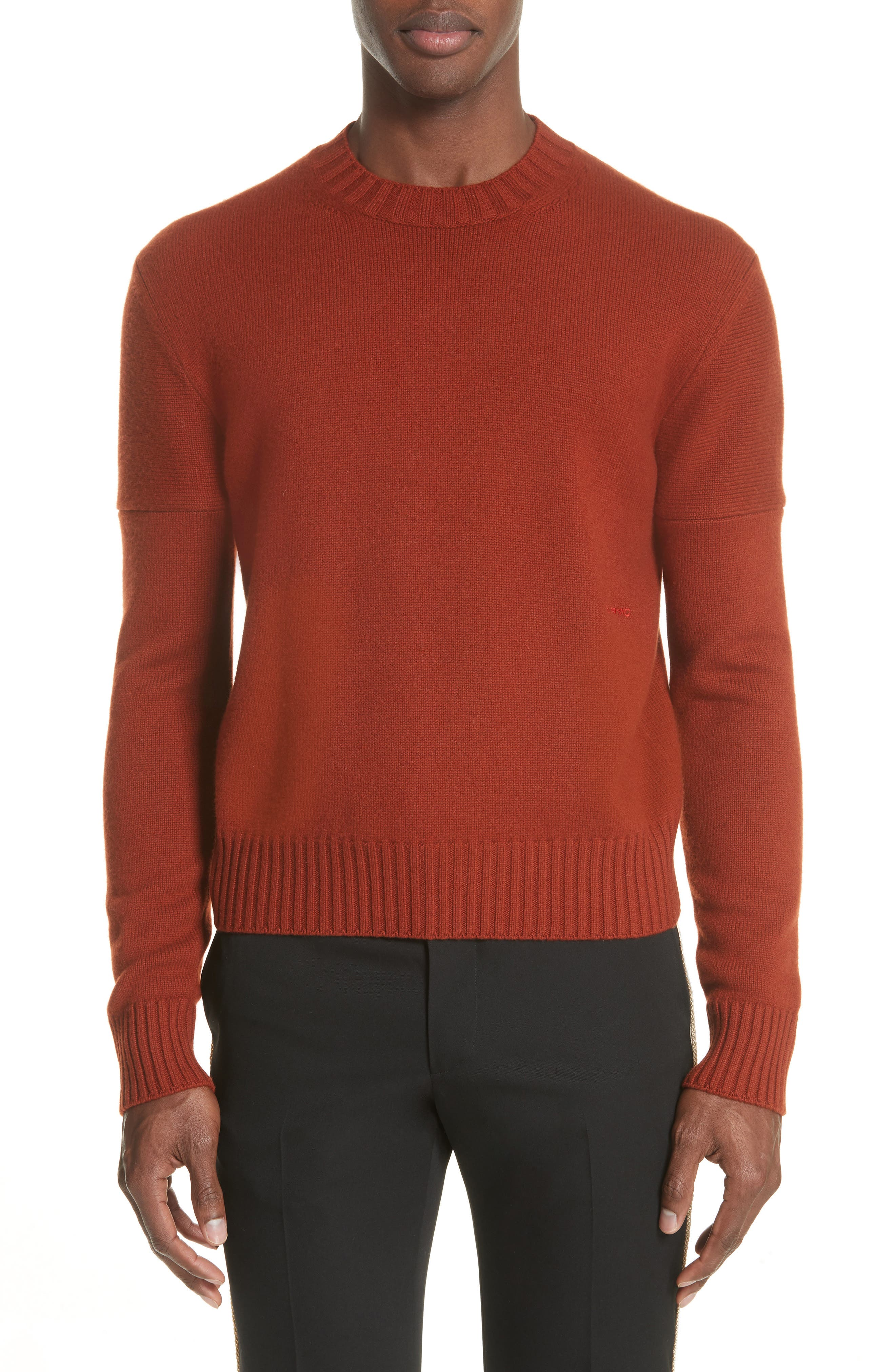 CALVIN KLEIN 205W39NYC,                             Cashmere Sweater,                             Main thumbnail 1, color,                             605