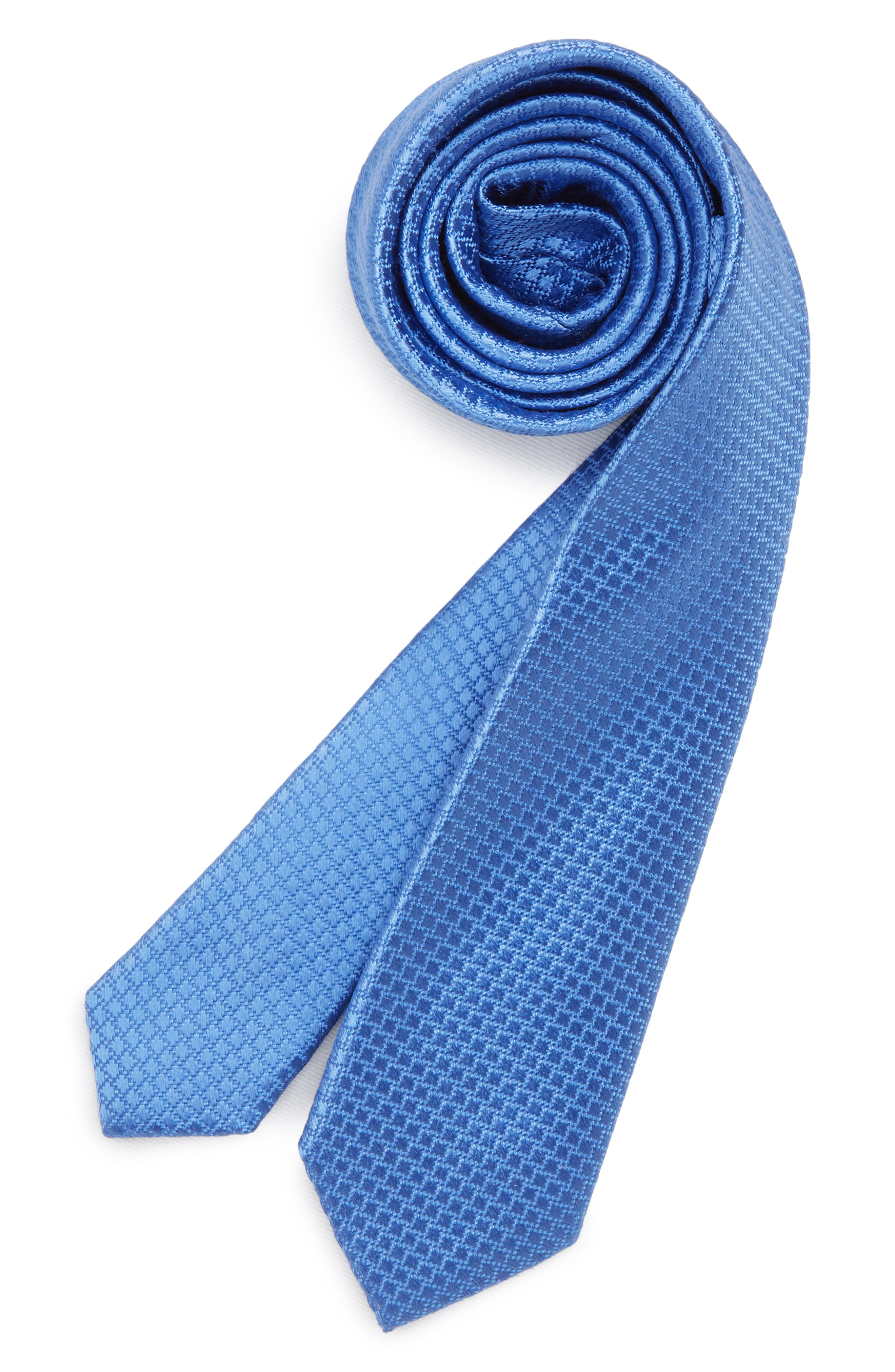 Neat Dot Silk Tie,                             Main thumbnail 1, color,                             445