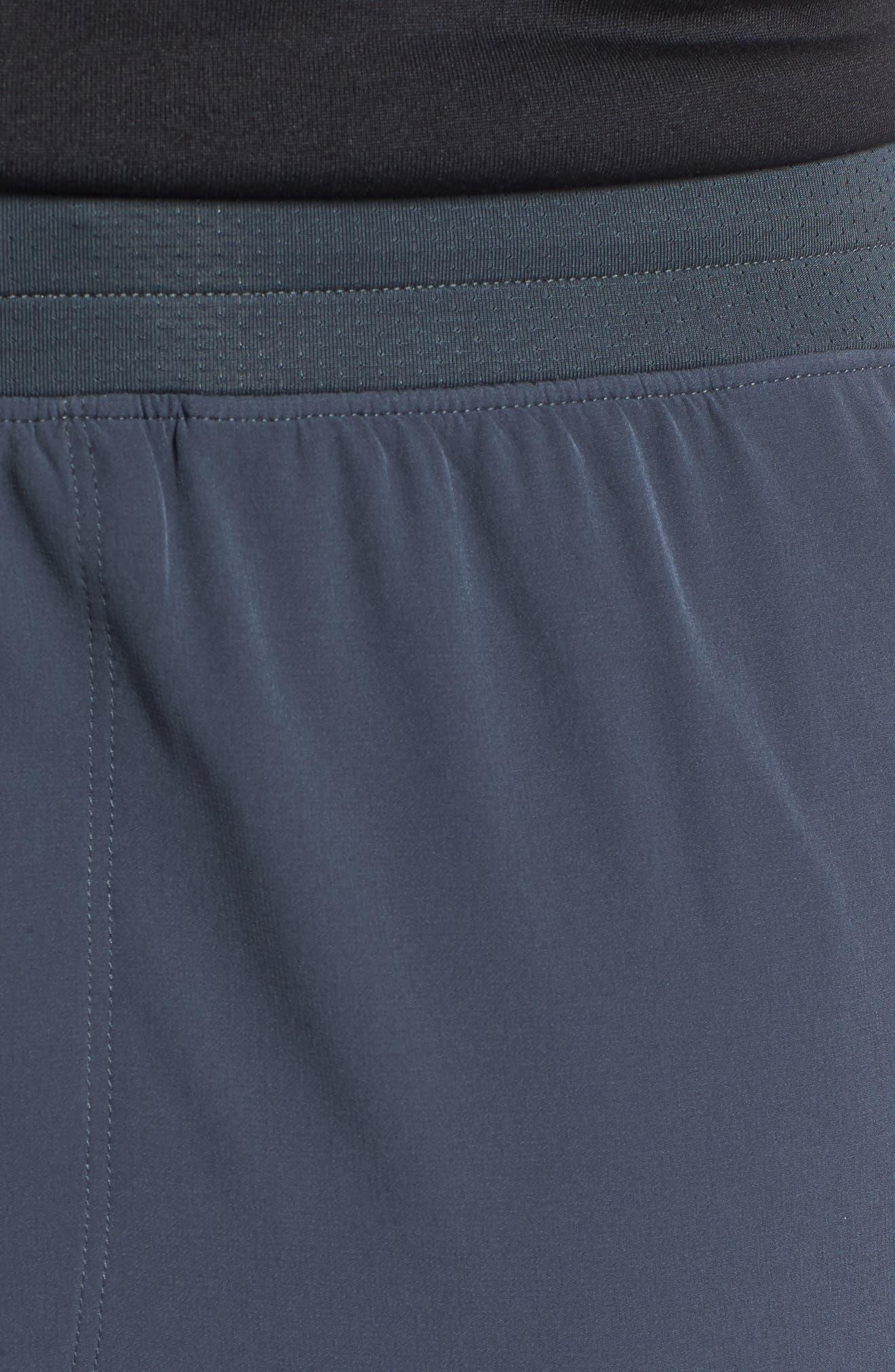 Perpetual Cargo Jogger Pants,                             Alternate thumbnail 4, color,                             STEALTH GRAY/ BLACK