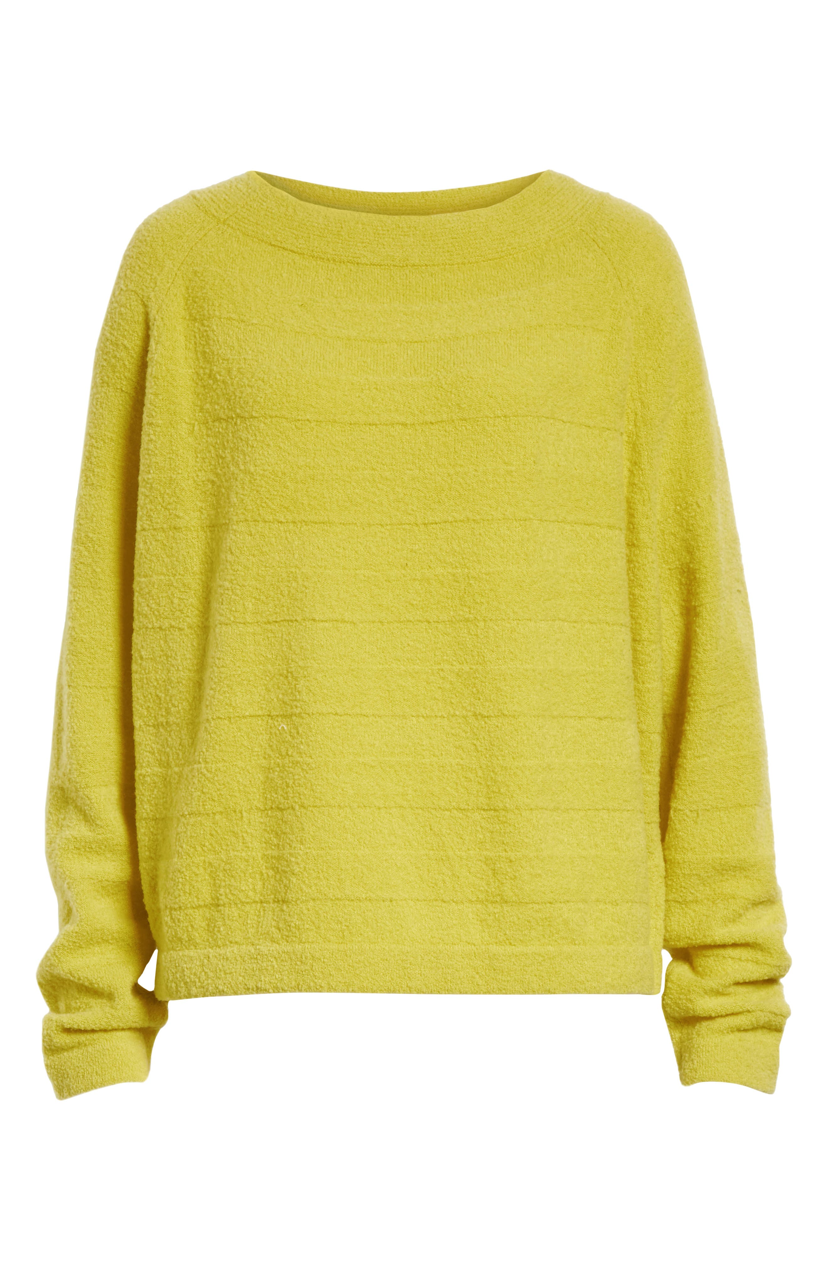 Merino Wool Blend Knit Sweater,                             Alternate thumbnail 6, color,                             750